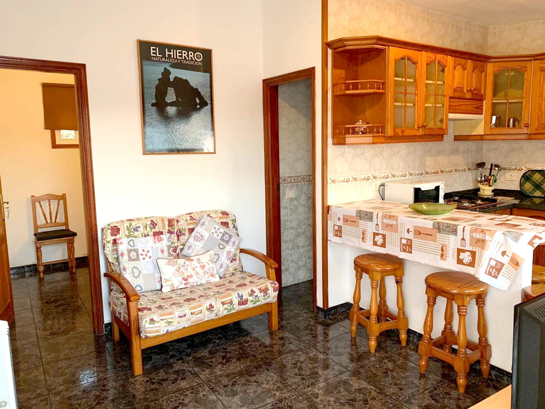 Holiday apartment Wohnung mit 3 Schlafzimmern in Frontera mit herrlichem Meerblick und möblierter Terrasse - (2691579), Tigaday, El Hierro, Canary Islands, Spain, picture 8
