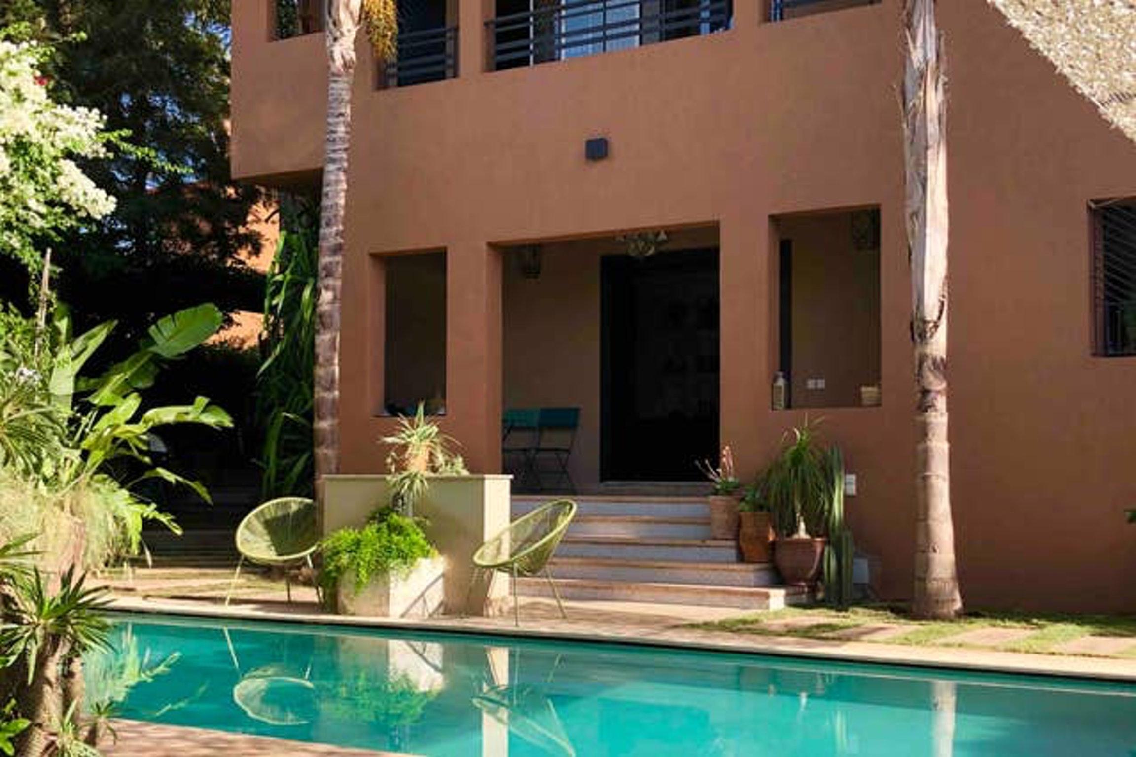 Villa mit 4 Schlafzimmern in Marrakech mit toller  Villa in Afrika