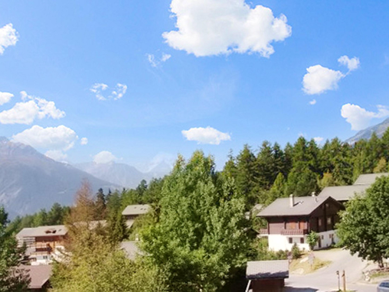 Ferienhaus Hütte mit 3 Schlafzimmern in Bellwald mit toller Aussicht auf die Berge, Balkon und W-LAN (2201041), Bellwald, Aletsch - Goms, Wallis, Schweiz, Bild 12