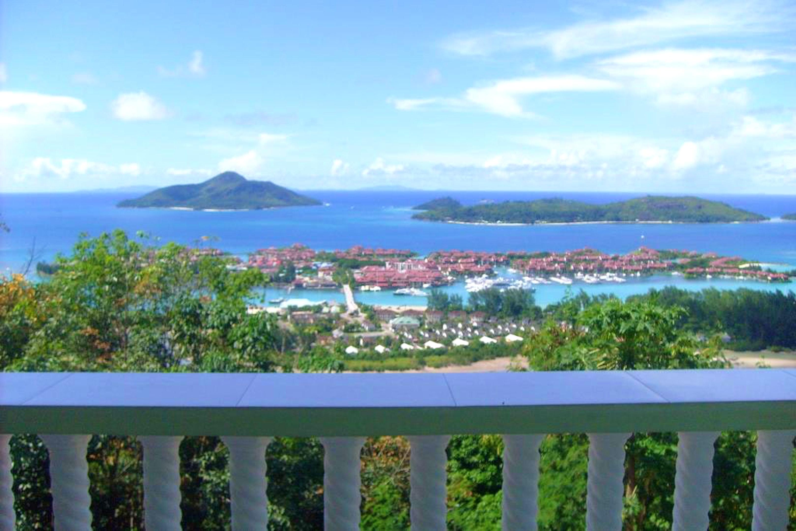 Villa mit 2 Schlafzimmern in Victoria mit herrlich Villa auf den Seychellen