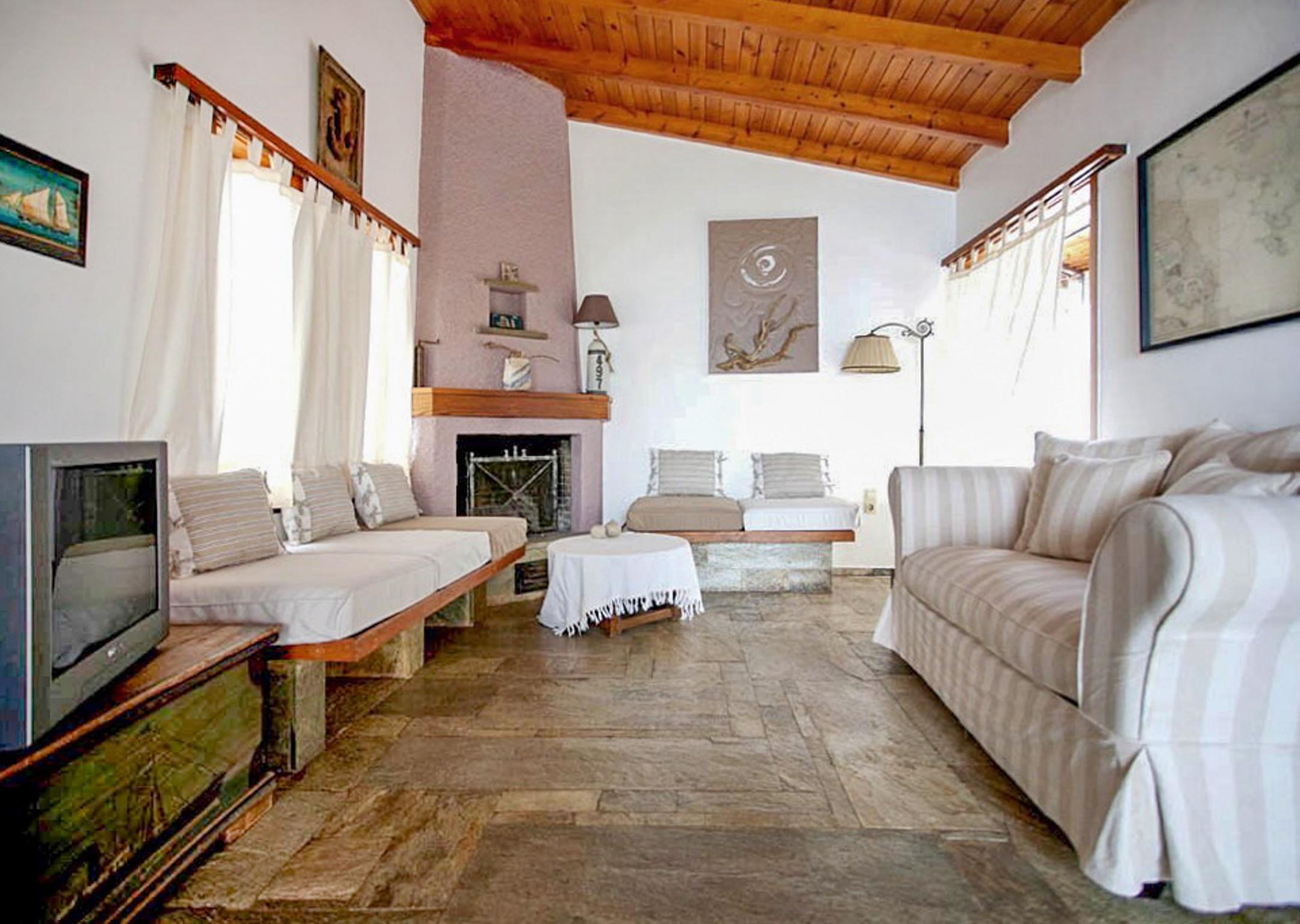 Ferienhaus Villa mit 6 Zimmern in Xiropigado mit herrlichem Meerblick, eingezäuntem Garten und W-LAN  (2201333), Xiropigado, , Peloponnes, Griechenland, Bild 8