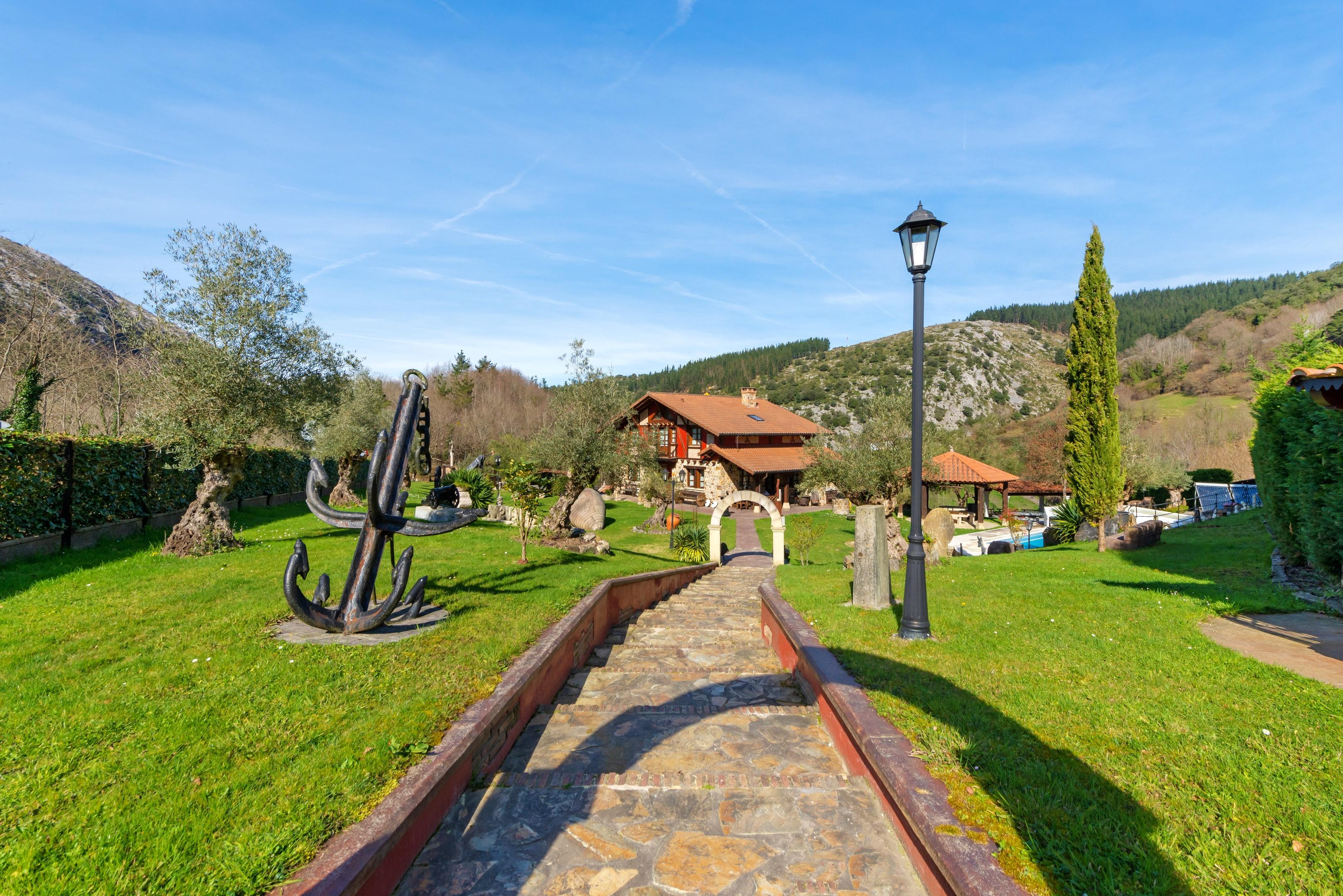 Ferienhaus Villa mit 6 Schlafzimmern in Bizkaia mit privatem Pool und möblierter Terrasse (2519370), Dima, Bizkaia, Baskenland, Spanien, Bild 23