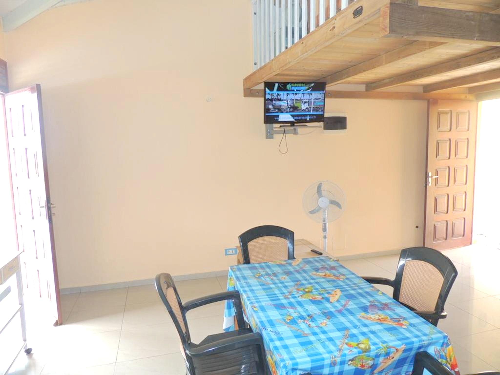 Haus mit einem Schlafzimmer in Bouillante mit herr Ferienhaus in Guadeloupe