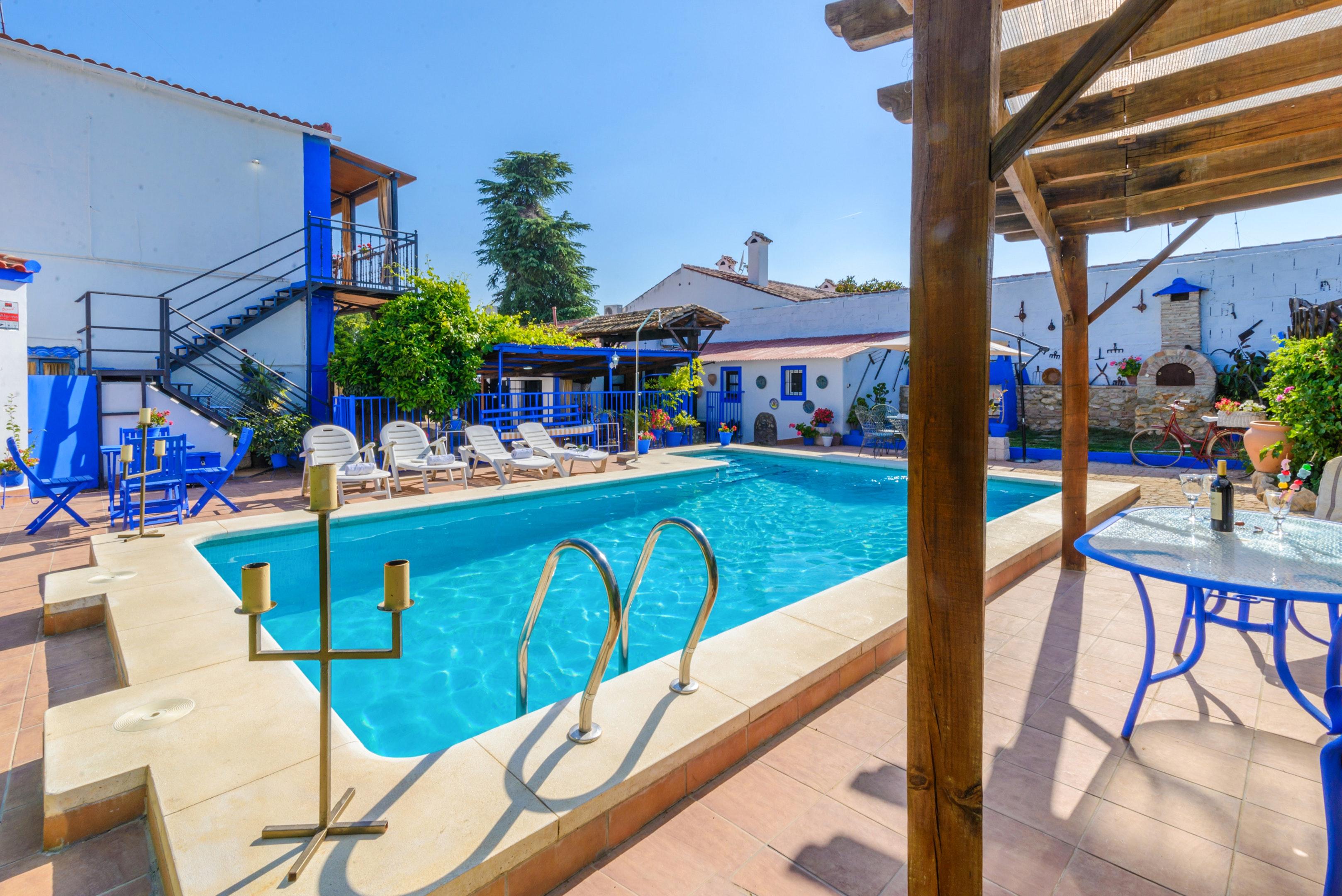 Ferienhaus Villa mit 3 Schlafzimmern in Peñaflor mit privatem Pool, eingezäuntem Garten und W-LAN (2208249), Peñaflor, Sevilla, Andalusien, Spanien, Bild 38