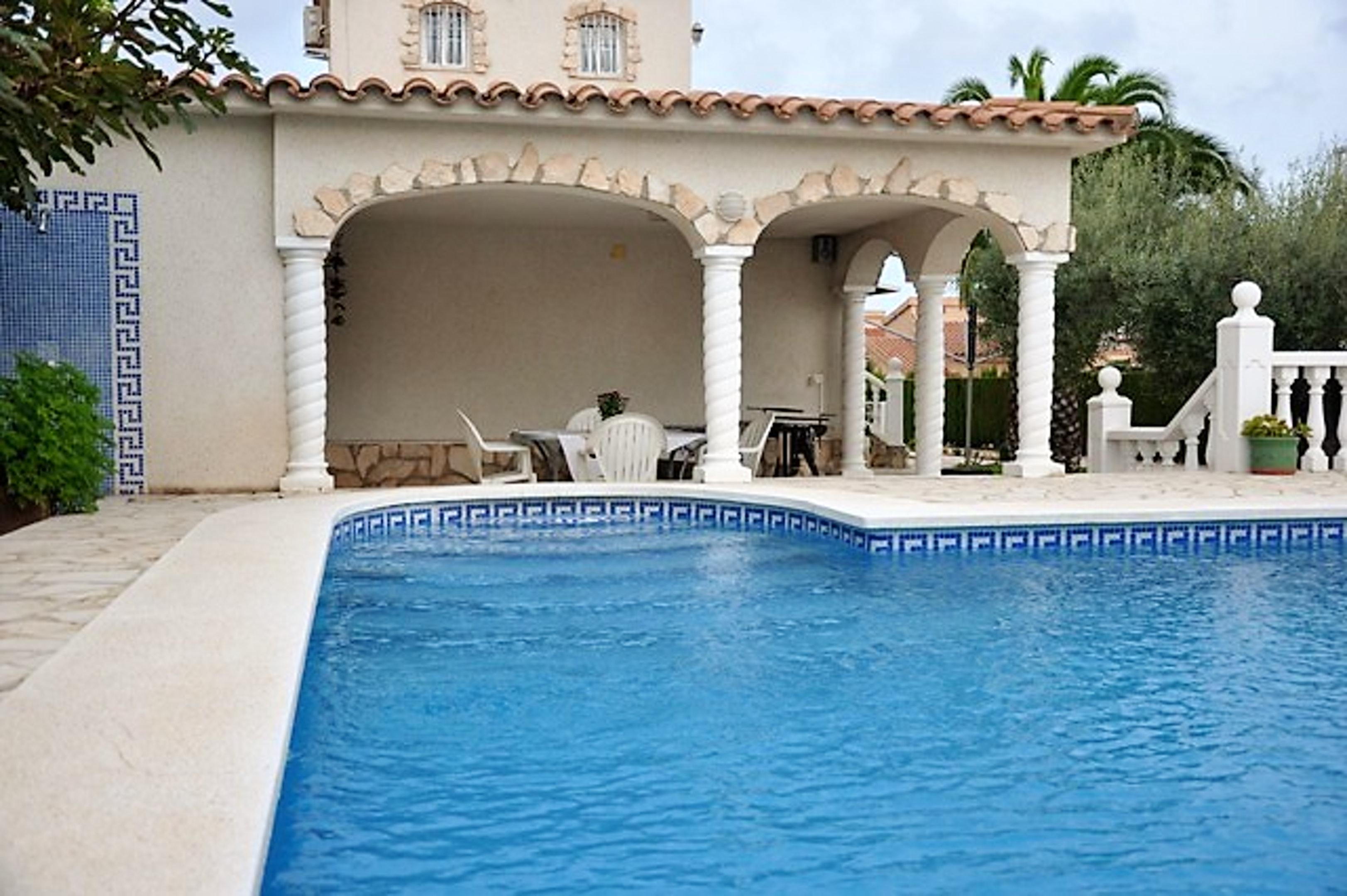 Ferienhaus Villa mit 3 Schlafzimmern in Ampolla mit herrlichem Meerblick, privatem Pool, möbliertem G (2201037), L'Ampolla, Costa Dorada, Katalonien, Spanien, Bild 5