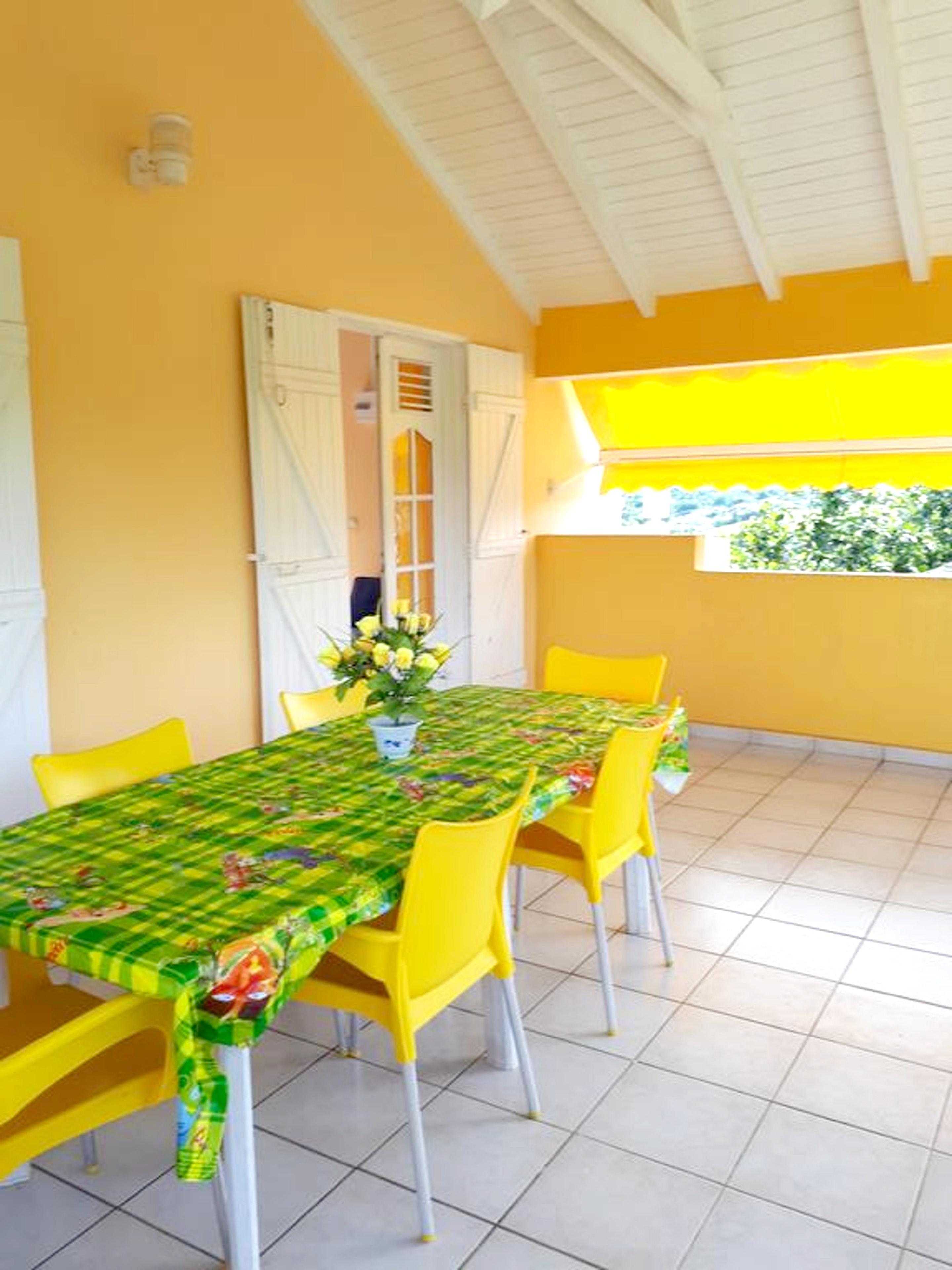 Wohnung mit 2 Schlafzimmern in Baie Mahault mit he Ferienwohnung in Guadeloupe