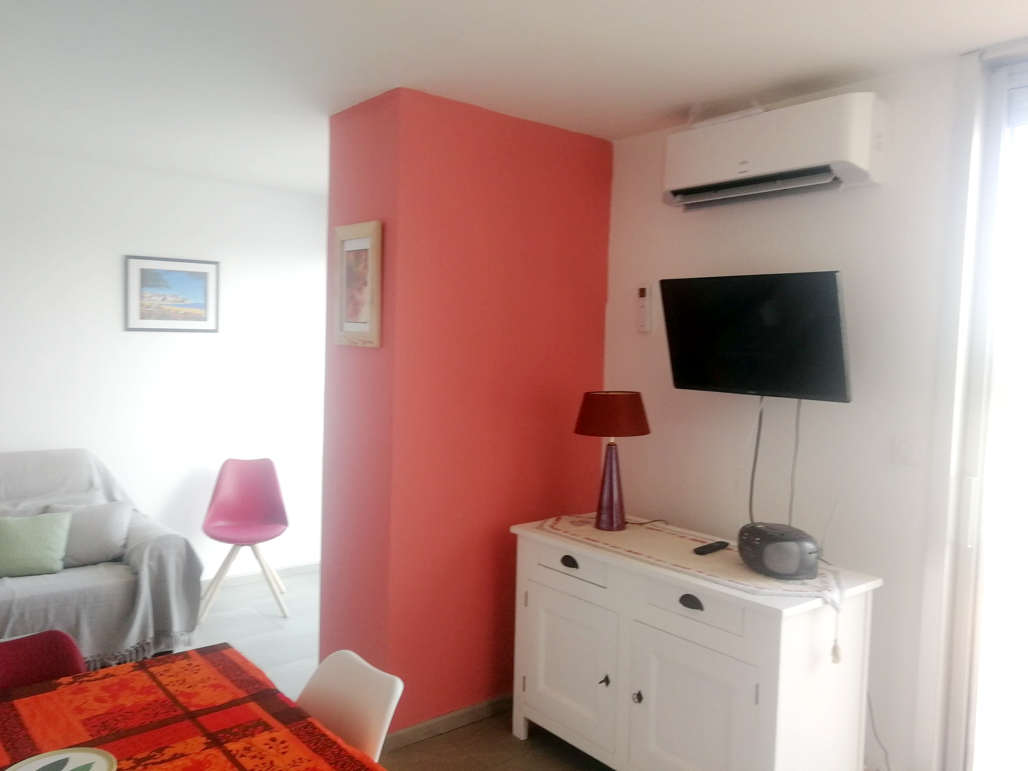 Holiday apartment Wohnung mit 2 Schlafzimmern in La Grande-Motte mit herrlichem Meerblick und möblierter Ter (2535444), La Grande Motte, Mediterranean coast Hérault, Languedoc-Roussillon, France, picture 4