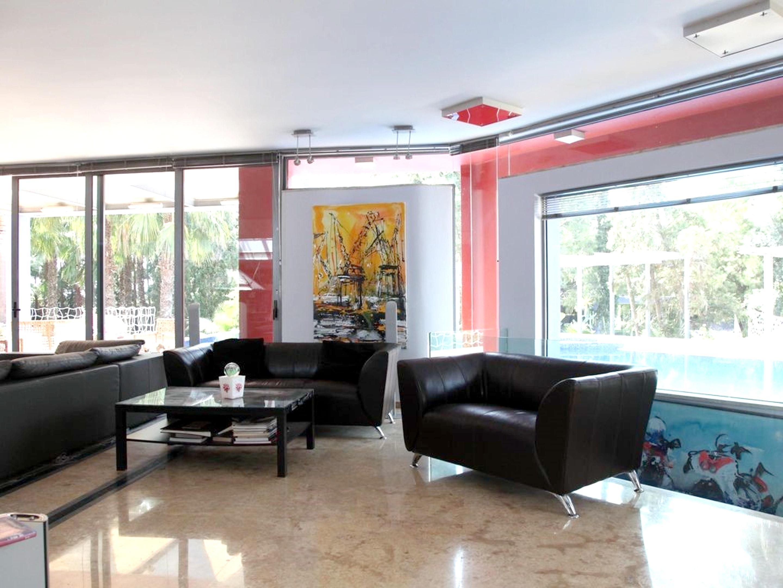 Ferienhaus Villa mit 4 Schlafzimmern in Eretria mit herrlichem Meerblick, privatem Pool, eingezäuntem (2201213), Eretria Evia, , Euböa, Griechenland, Bild 11