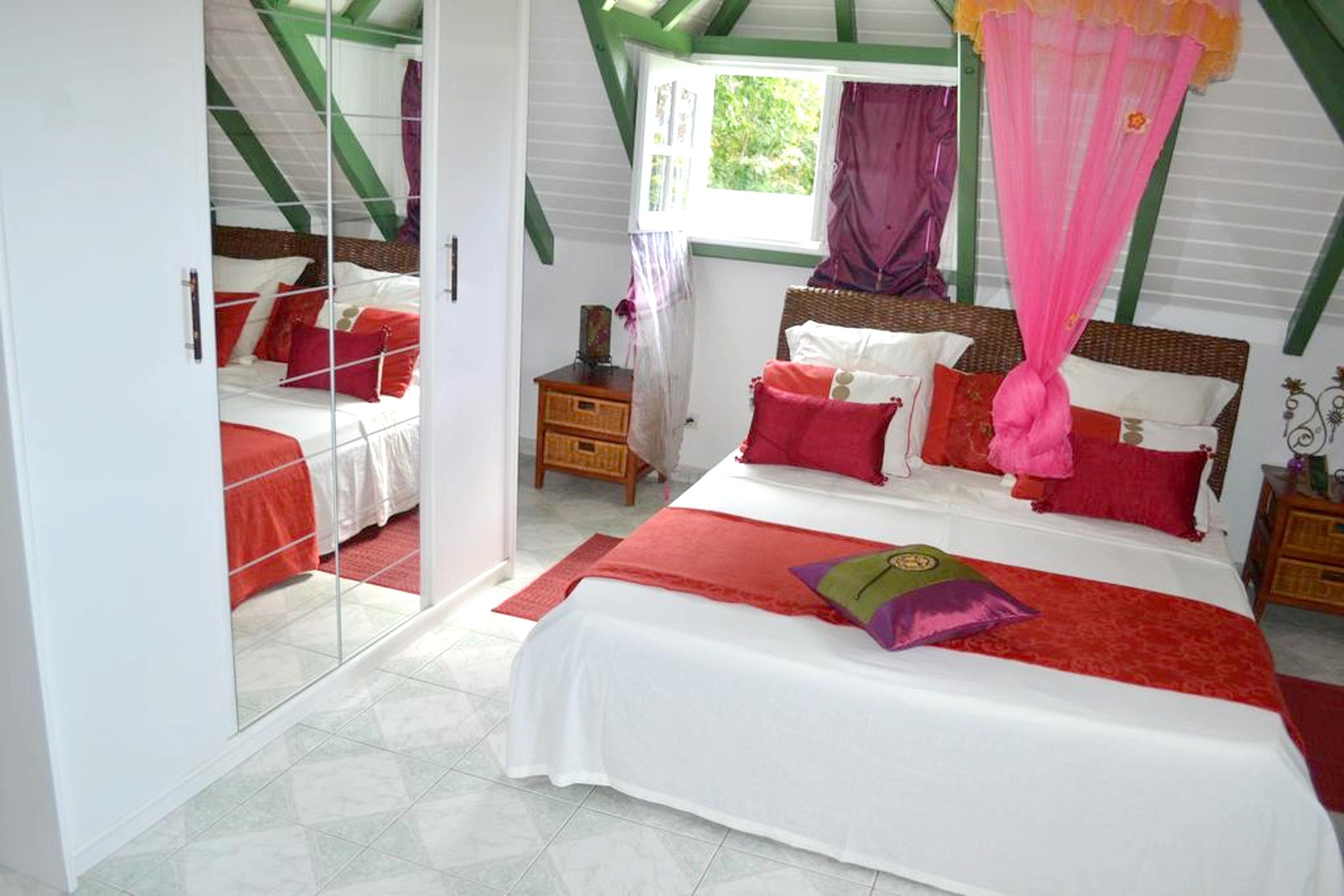 Wohnung mit 3 Schlafzimmern in Deshaies mit herrli Ferienwohnung in Guadeloupe