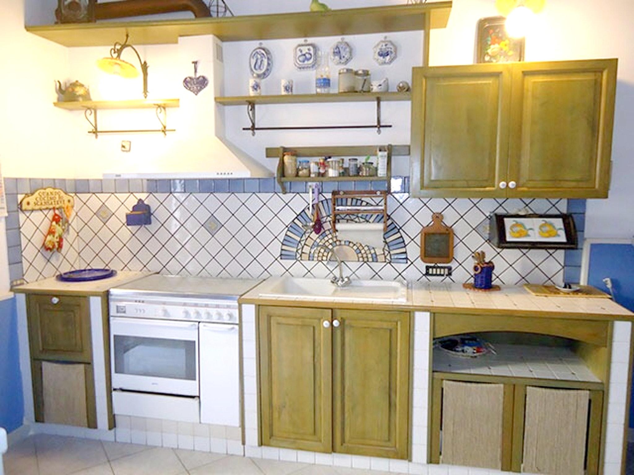 Appartement de vacances Wohnung mit 2 Schlafzimmern in Lipari mit möblierter Terrasse - 20 m vom Strand entfernt (2202323), Lipari, Lipari, Sicile, Italie, image 6