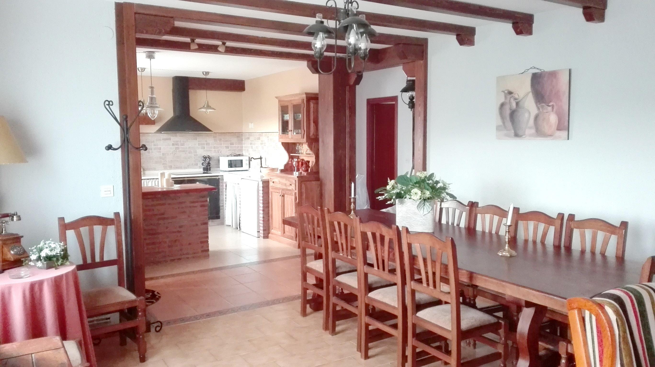 Ferienhaus Haus mit 3 Schlafzimmern in Peral de Arlanza mit eingezäuntem Garten (2201640), Peral de Arlanza, Palencia, Kastilien-León, Spanien, Bild 15