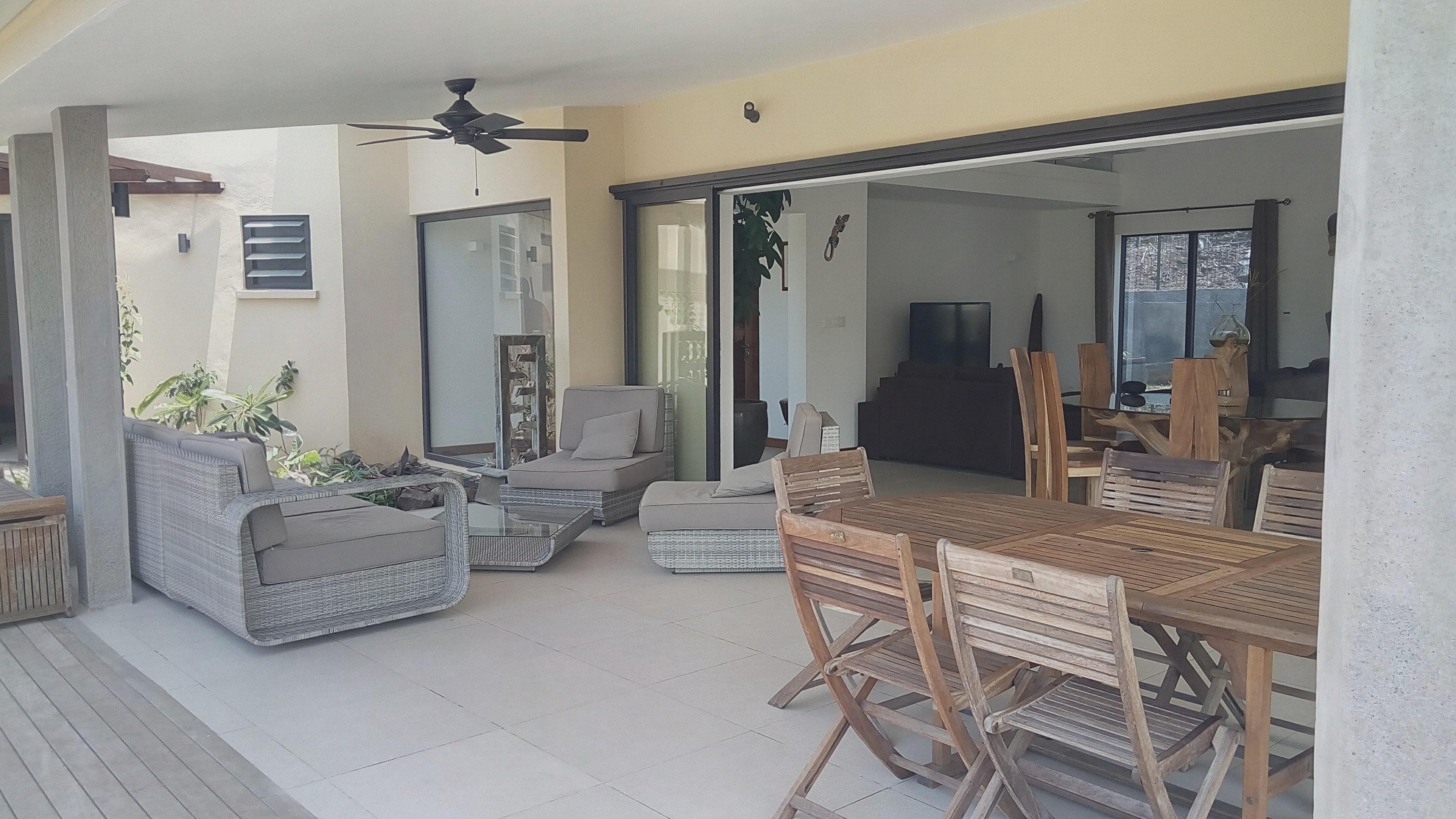 Villa mit 3 Schlafzimmern in Rivière Noire  Villa auf Mauritius