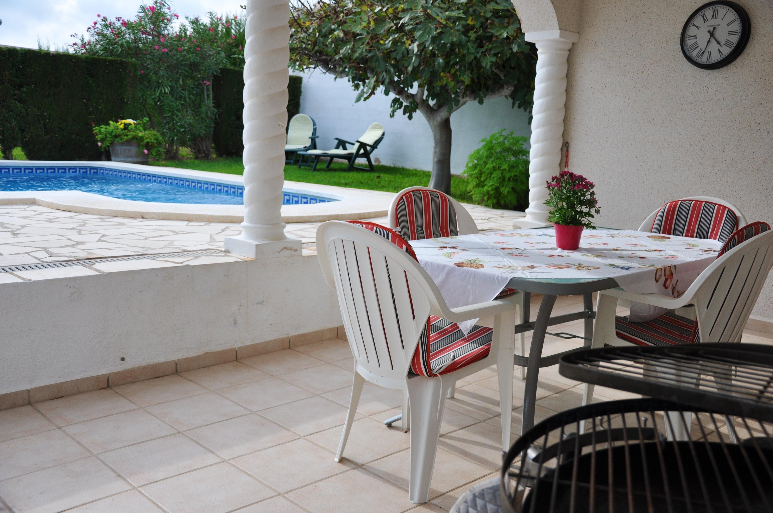 Ferienhaus Villa mit 3 Schlafzimmern in Ampolla mit herrlichem Meerblick, privatem Pool, möbliertem G (2201037), L'Ampolla, Costa Dorada, Katalonien, Spanien, Bild 6