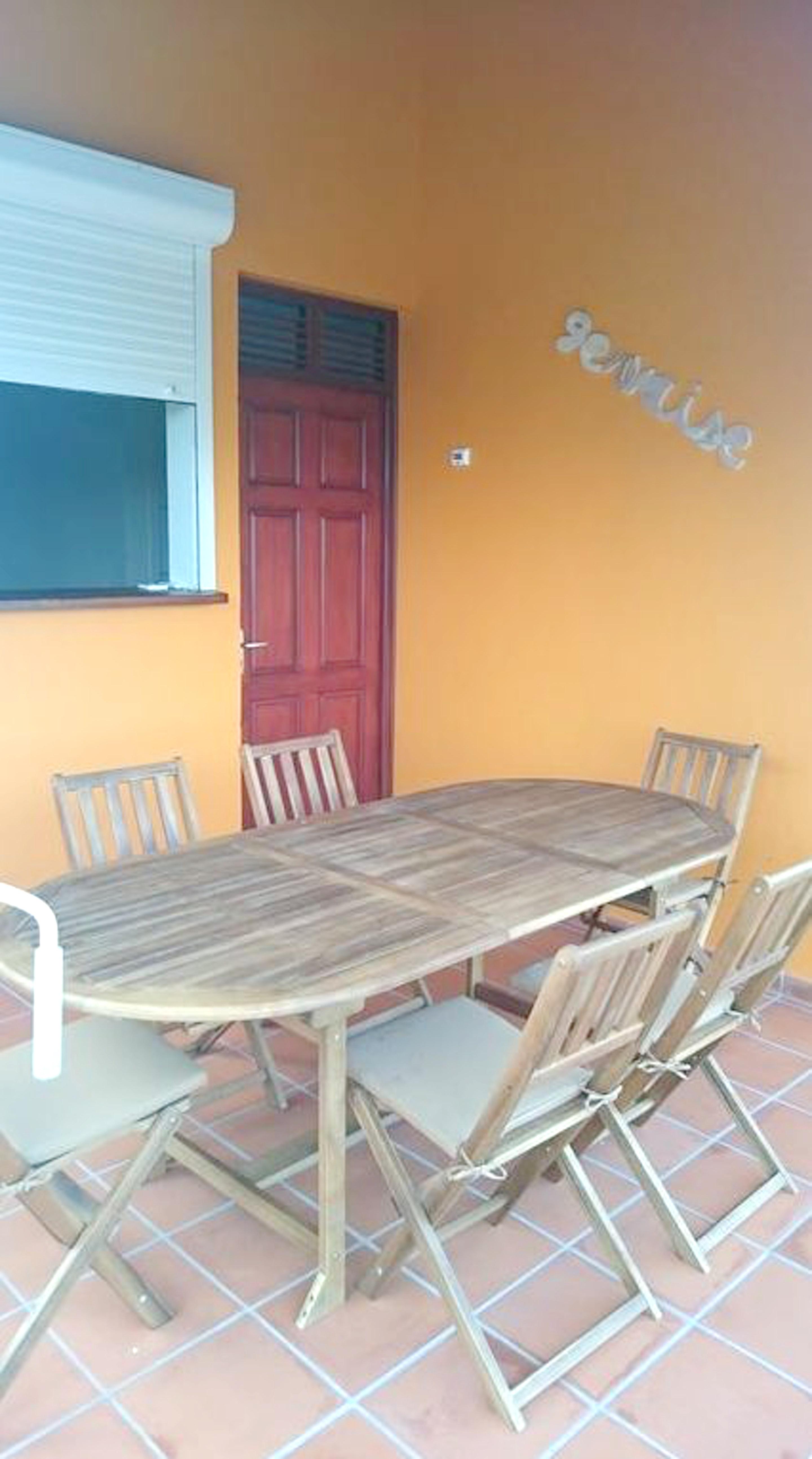 Haus mit 2 Schlafzimmern in Ste Anne mit herrliche Ferienhaus in Guadeloupe