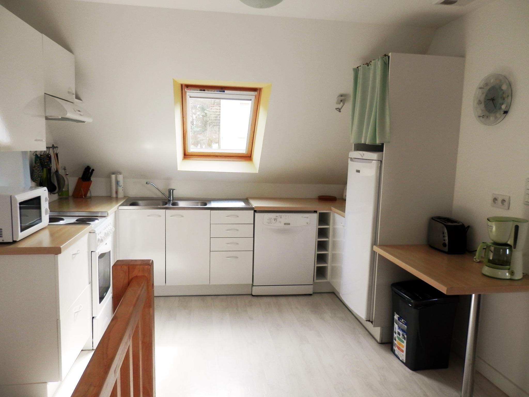 Holiday apartment Modernes wohnung in Arzon mit zwei Schlafzimmern, Terrasse und Blick auf die Stadt - für v (2201249), Arzon, Atlantic coast Morbihan, Brittany, France, picture 7