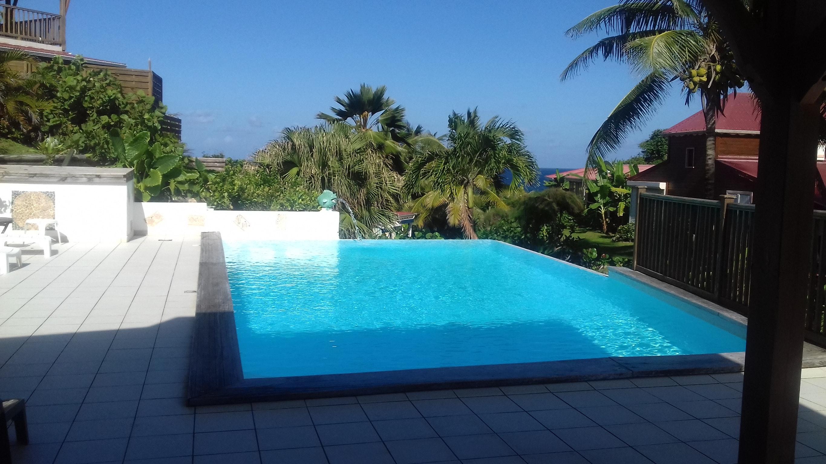 Bungalow mit 3 Schlafzimmern in Le Moule mit herrl Hütte in Guadeloupe