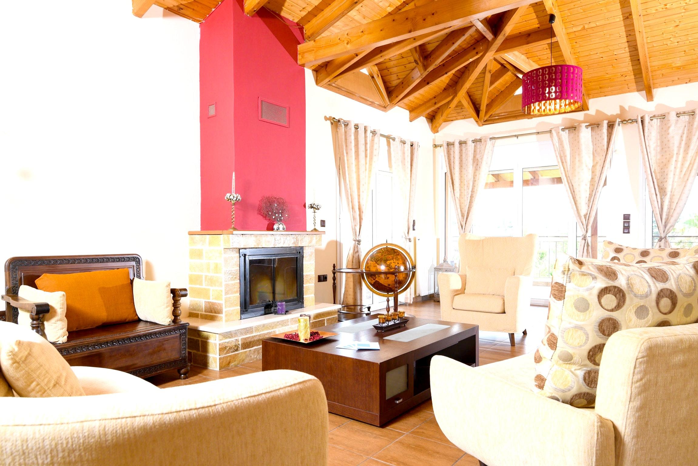 Holiday house Villa mit 5 Schlafzimmern in Kitsi mit privatem Pool, eingezäuntem Garten und W-LAN (2339398), Koropion, , Attica, Greece, picture 7
