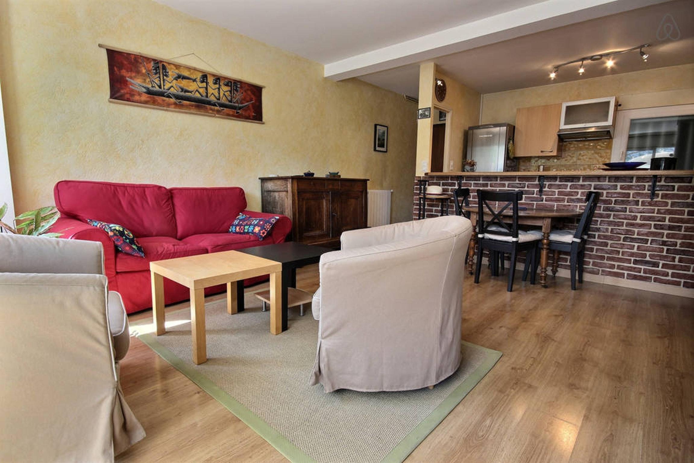 Ferienwohnung Wohnung mit 2 Zimmern in Montpellier mit möblierter Terrasse und W-LAN - 15 km vom Strand  (2351209), Montpellier, Mittelmeerküste Hérault, Languedoc-Roussillon, Frankreich, Bild 4