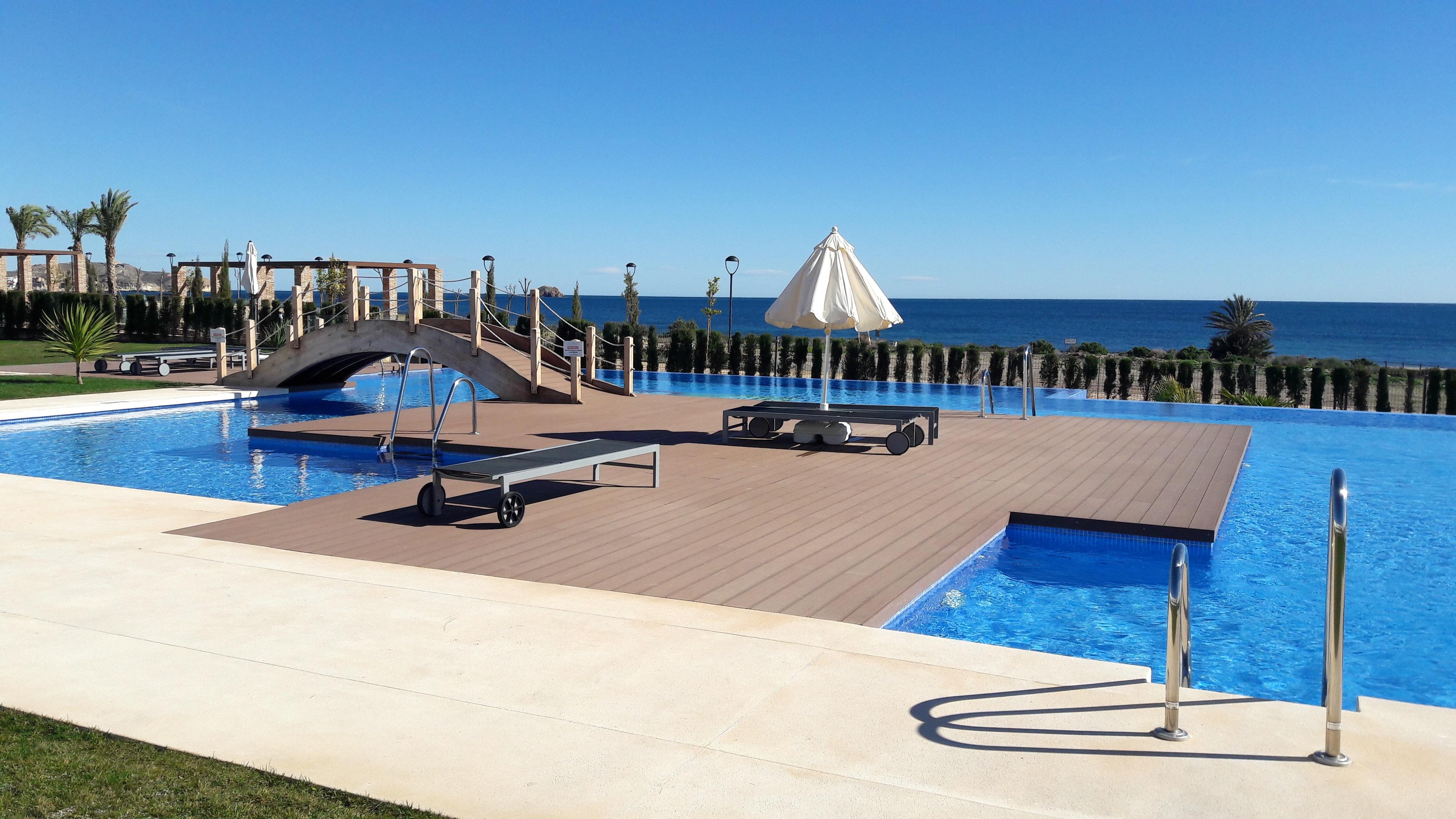 Ferienwohnung Wohnung mit 2 Schlafzimmern in San Juan de los Terreros mit herrlichem Meerblick, Pool, ei (2372661), San Juan de los Terreros, Costa de Almeria, Andalusien, Spanien, Bild 1
