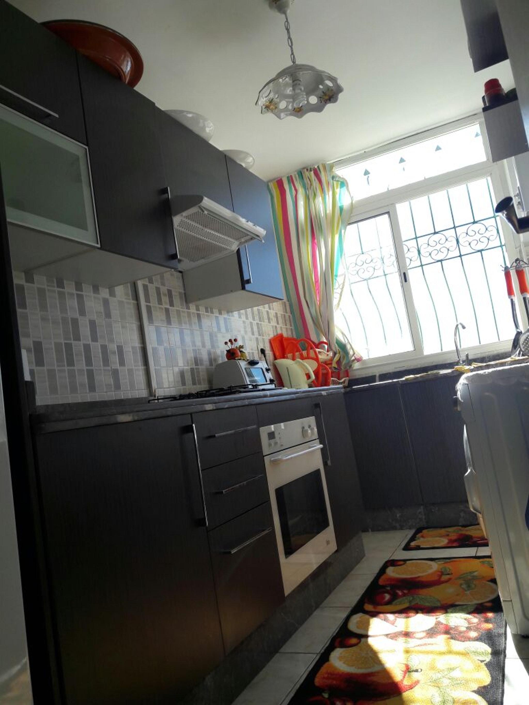 Wohnung mit einem Schlafzimmer in Tetouan mit toll Ferienwohnung in Afrika