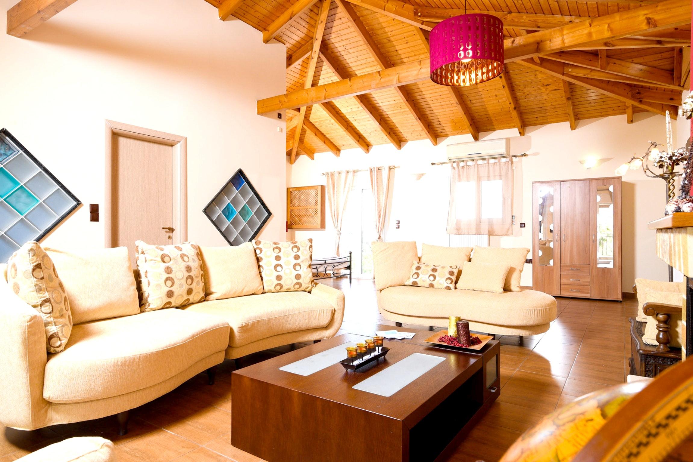 Holiday house Villa mit 5 Schlafzimmern in Kitsi mit privatem Pool, eingezäuntem Garten und W-LAN (2339398), Koropion, , Attica, Greece, picture 6