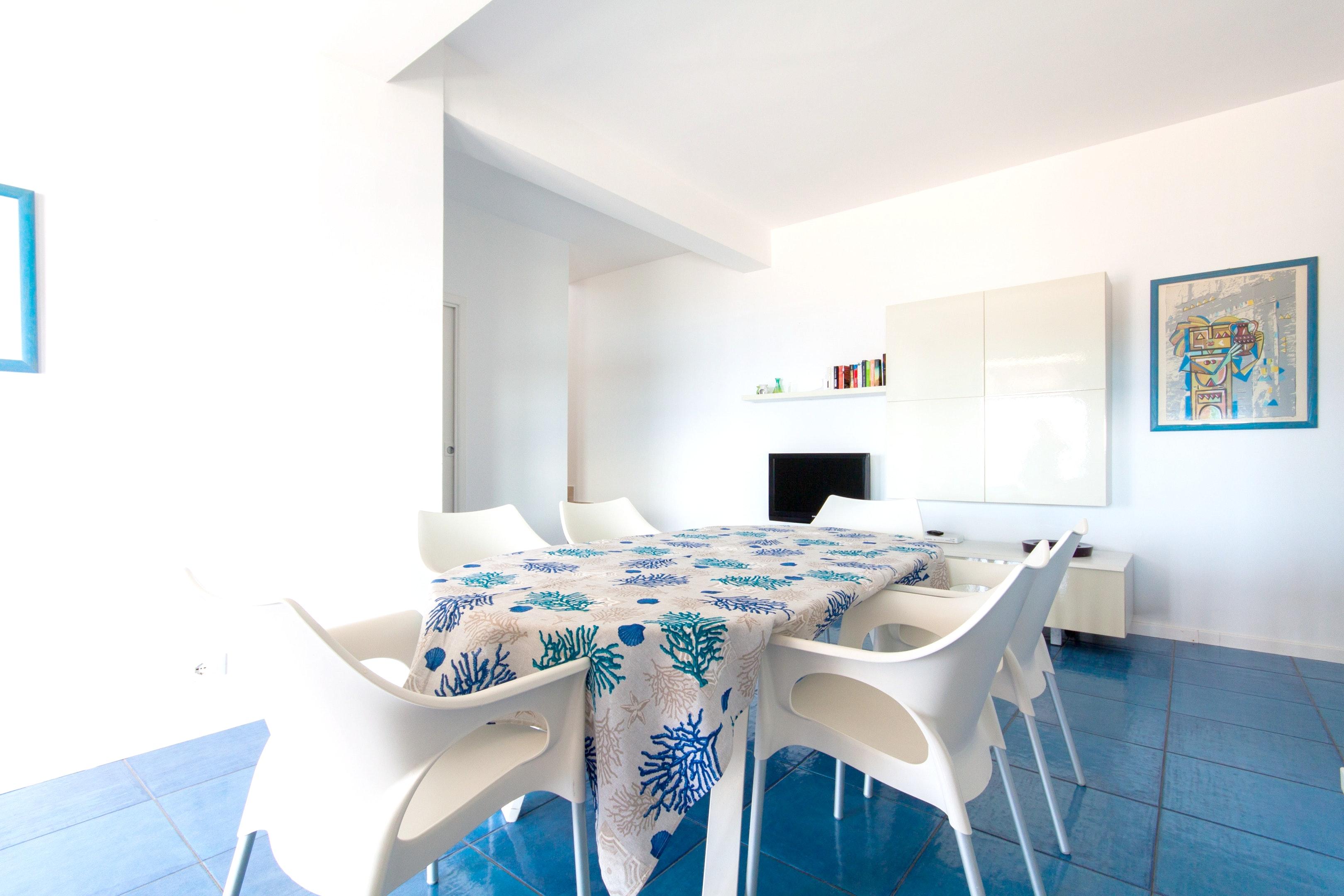 Holiday apartment Wohnung mit 4 Schlafzimmern in Piano di Trappeto mit herrlichem Meerblick, möblierter Terr (2236750), Balestrate, Palermo, Sicily, Italy, picture 8