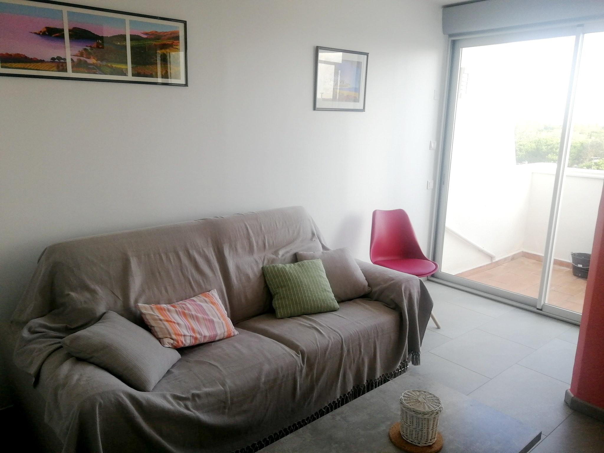 Holiday apartment Wohnung mit 2 Schlafzimmern in La Grande-Motte mit herrlichem Meerblick und möblierter Ter (2535444), La Grande Motte, Mediterranean coast Hérault, Languedoc-Roussillon, France, picture 2