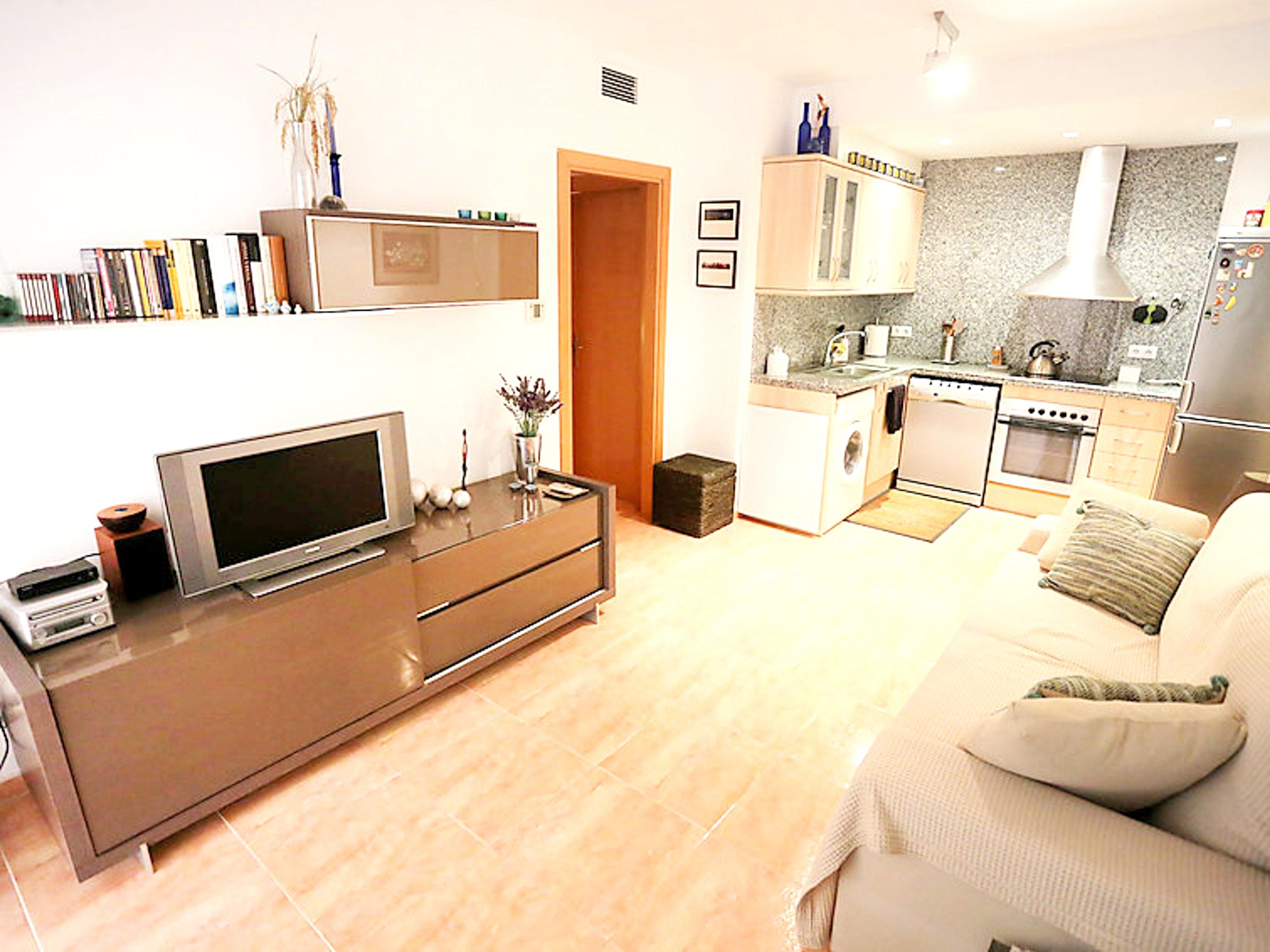 Ferienwohnung Wohnung mit einem Schlafzimmer in L'Eucaliptus mit möblierter Terrasse - 100 m vom Strand  (2201643), L'Eucaliptus, Tarragona, Katalonien, Spanien, Bild 4