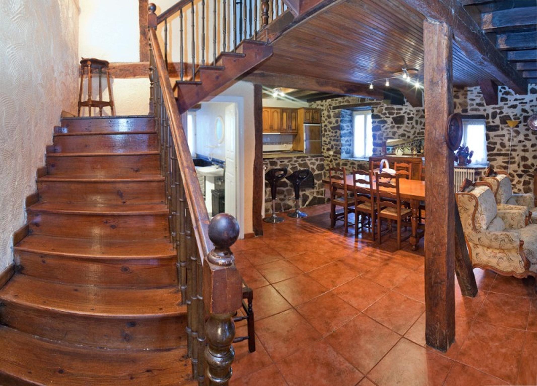 Ferienhaus Haus mit 4 Schlafzimmern in Valcarlos mit toller Aussicht auf die Berge und eingezäuntem G (2519329), Gañecoleta, , Navarra, Spanien, Bild 4