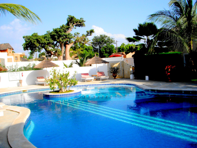 Villa mit 3 Schlafzimmern in Saly mit Pool, eingezäuntem Garten und W-LAN - 300 m vom Strand entfernt