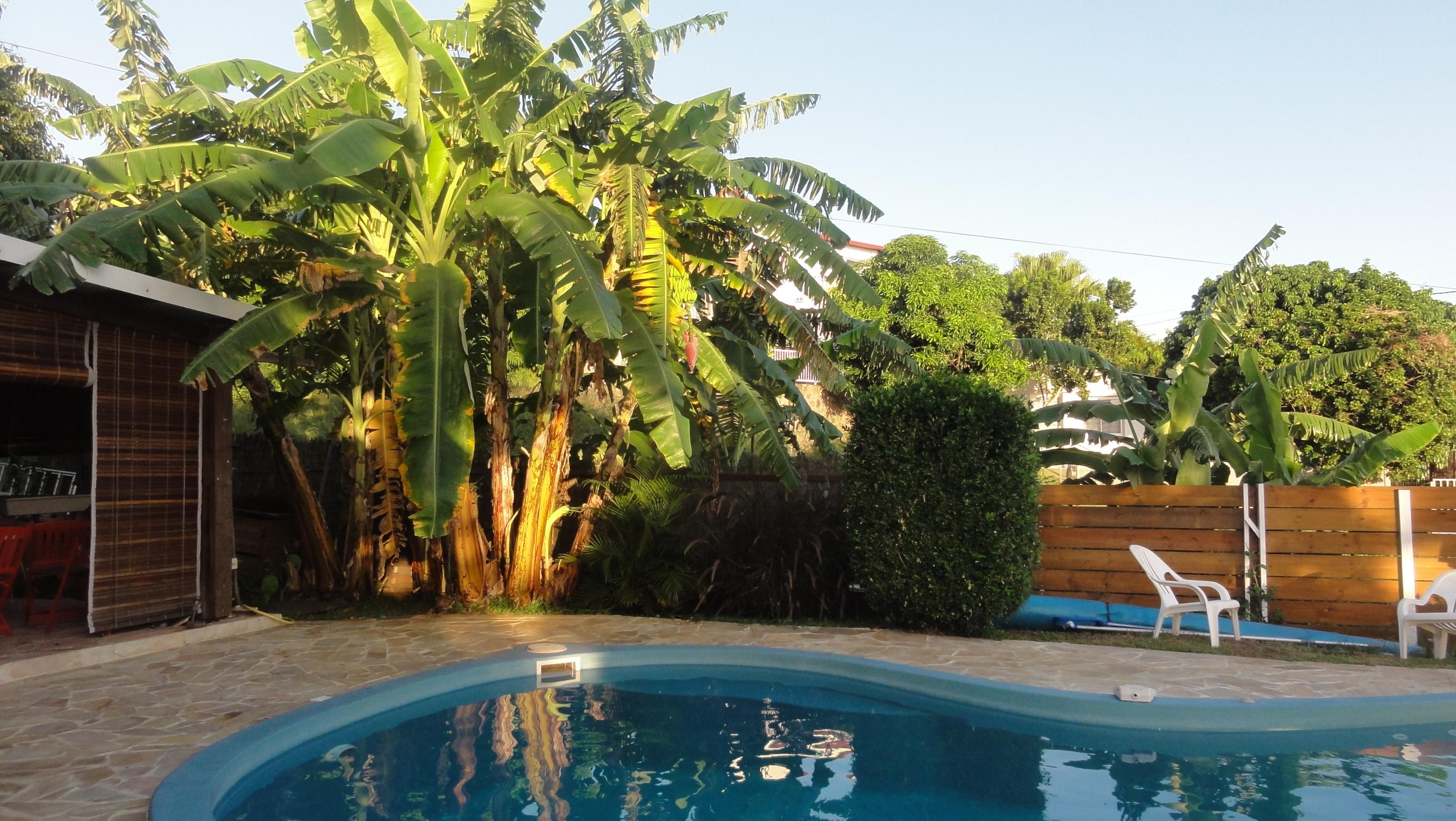 Studio in Piton Saint-Leu mit herrlichem Meerblick Ferienwohnung in Reunion