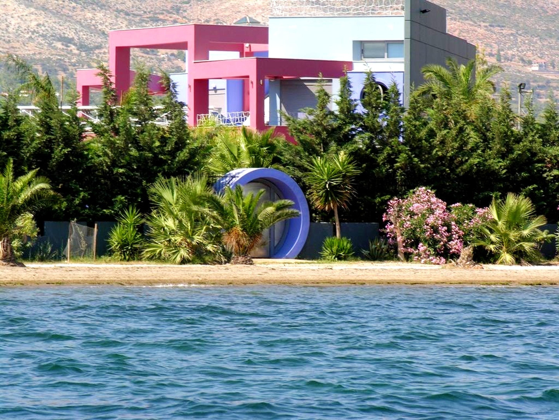 Ferienhaus Villa mit 4 Schlafzimmern in Eretria mit herrlichem Meerblick, privatem Pool, eingezäuntem (2201213), Eretria Evia, , Euböa, Griechenland, Bild 3