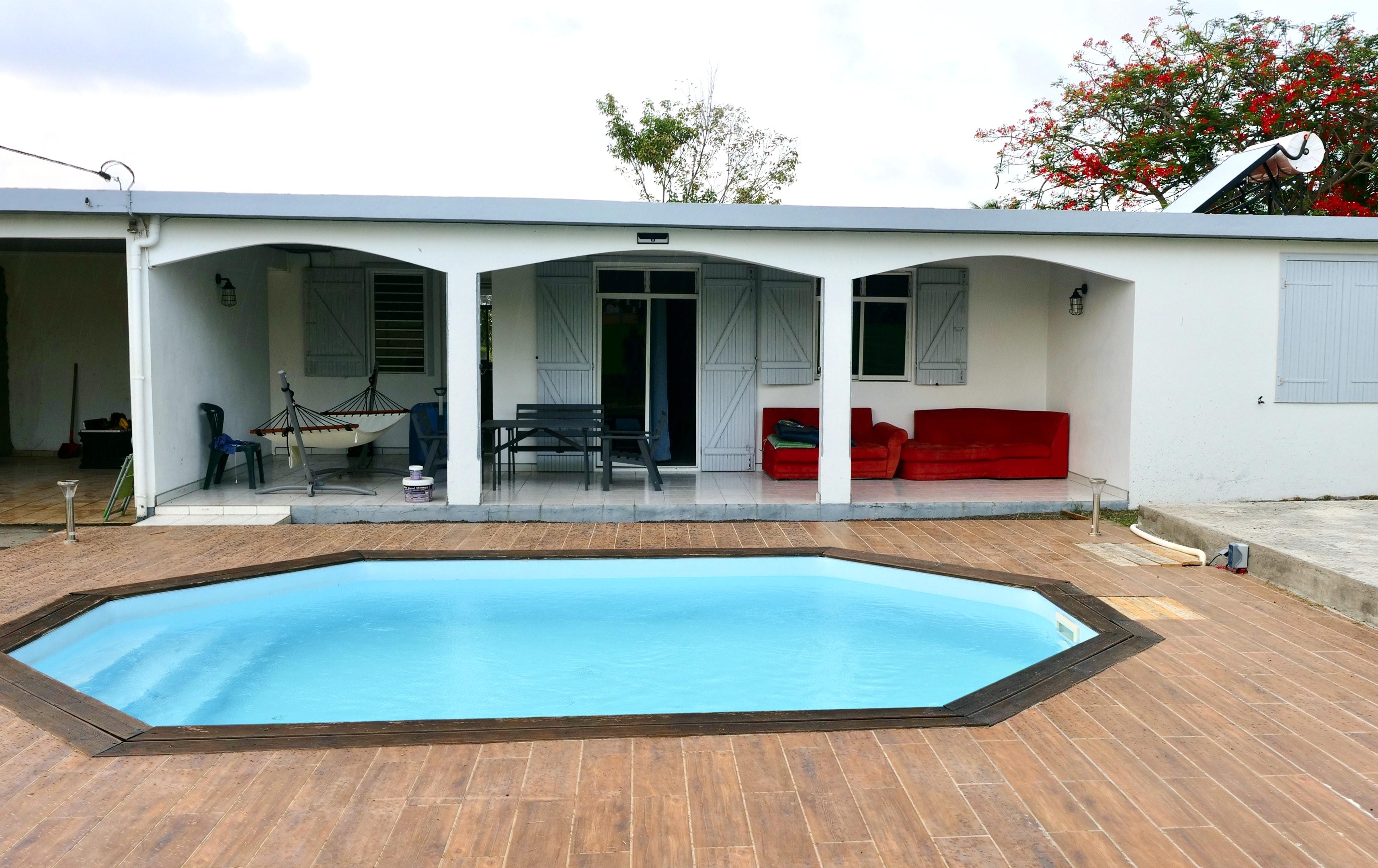 Haus mit 3 Schlafzimmern in Gros Cap mit herrliche Ferienhaus in Guadeloupe