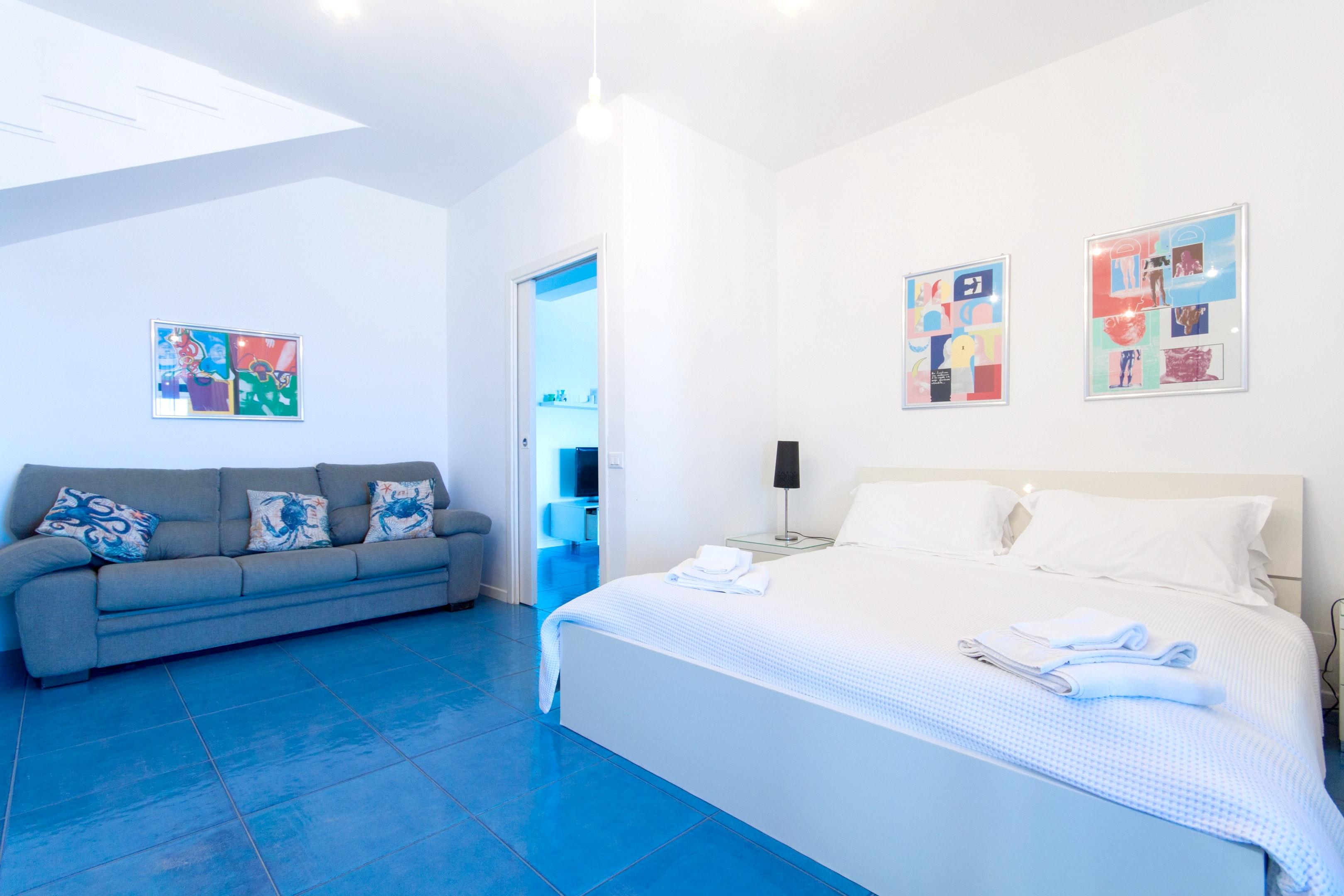 Holiday apartment Wohnung mit 4 Schlafzimmern in Piano di Trappeto mit herrlichem Meerblick, möblierter Terr (2236750), Balestrate, Palermo, Sicily, Italy, picture 14