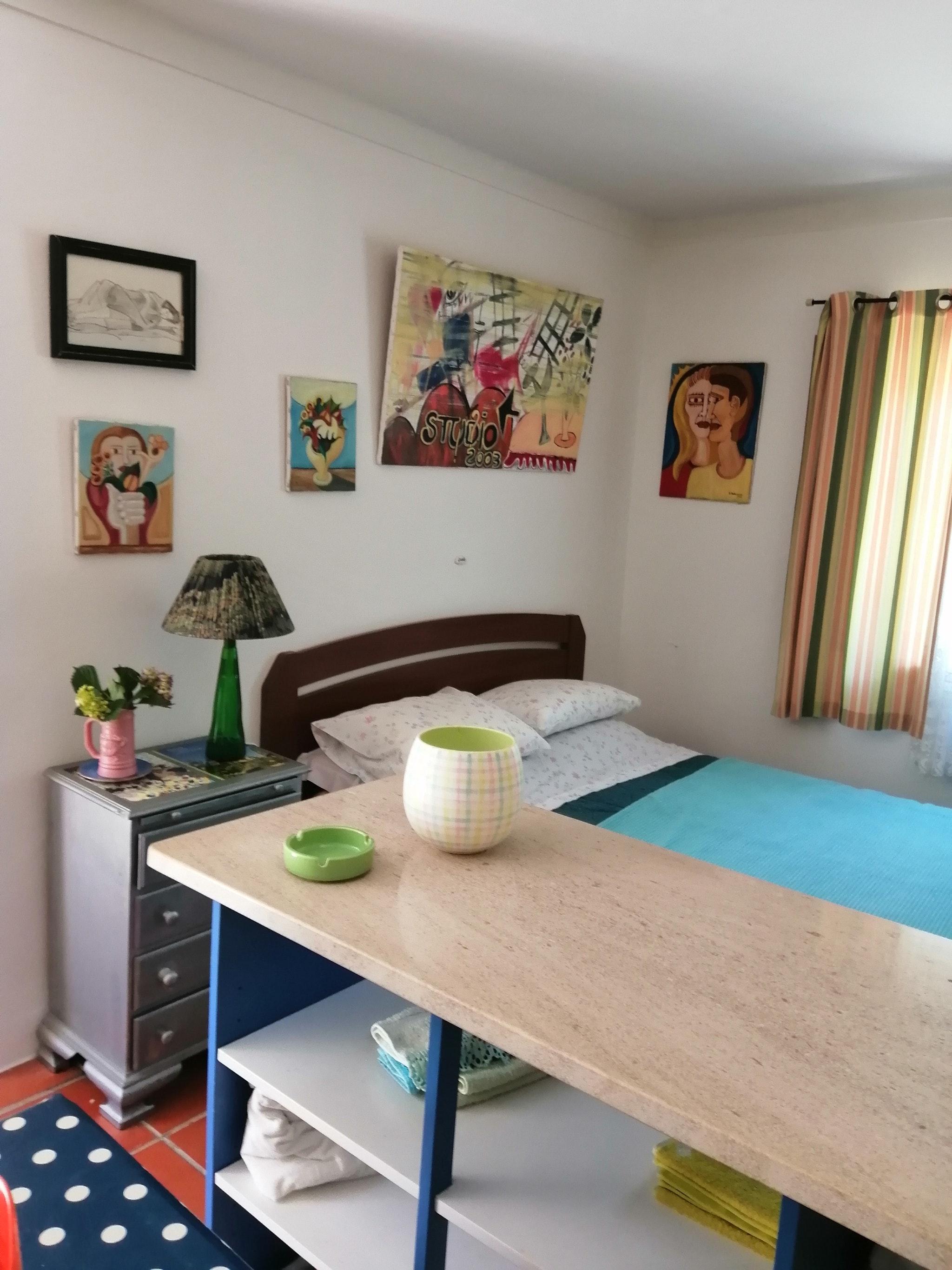 Holiday apartment Studio in Nazaré mit Pool, möbliertem Garten und W-LAN - 7 km vom Strand entfernt (2410449), Nazaré, Costa de Prata, Central-Portugal, Portugal, picture 4
