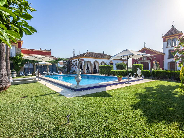 Ferienhaus Villa mit 4 Schlafzimmern in Los Palacios y Villafranca mit privatem Pool, eingezäuntem Ga (2422948), Los Palacios y Villafranca, Sevilla, Andalusien, Spanien, Bild 19
