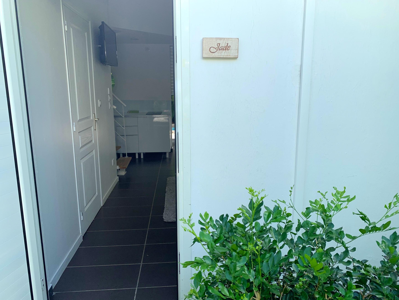 Wohnung mit einem Schlafzimmer in Le Moule mit pri Ferienwohnung in Guadeloupe