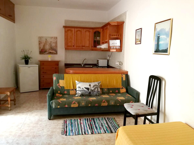 Holiday apartment Studio in Frontera mit Terrasse - 2 km vom Strand entfernt (2691591), Tigaday, El Hierro, Canary Islands, Spain, picture 1