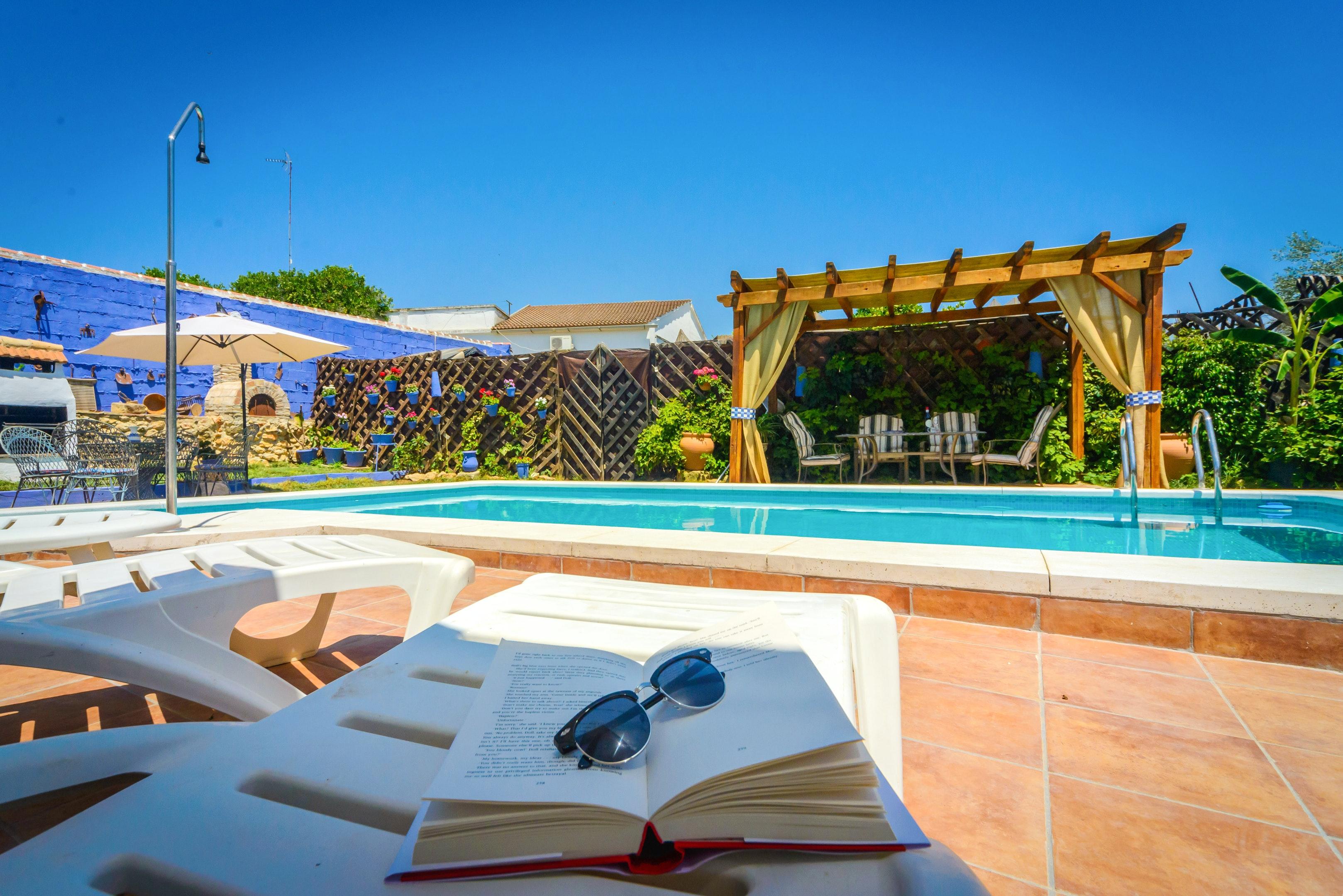Ferienhaus Villa mit 3 Schlafzimmern in Peñaflor mit privatem Pool, eingezäuntem Garten und W-LAN (2208249), Peñaflor, Sevilla, Andalusien, Spanien, Bild 4