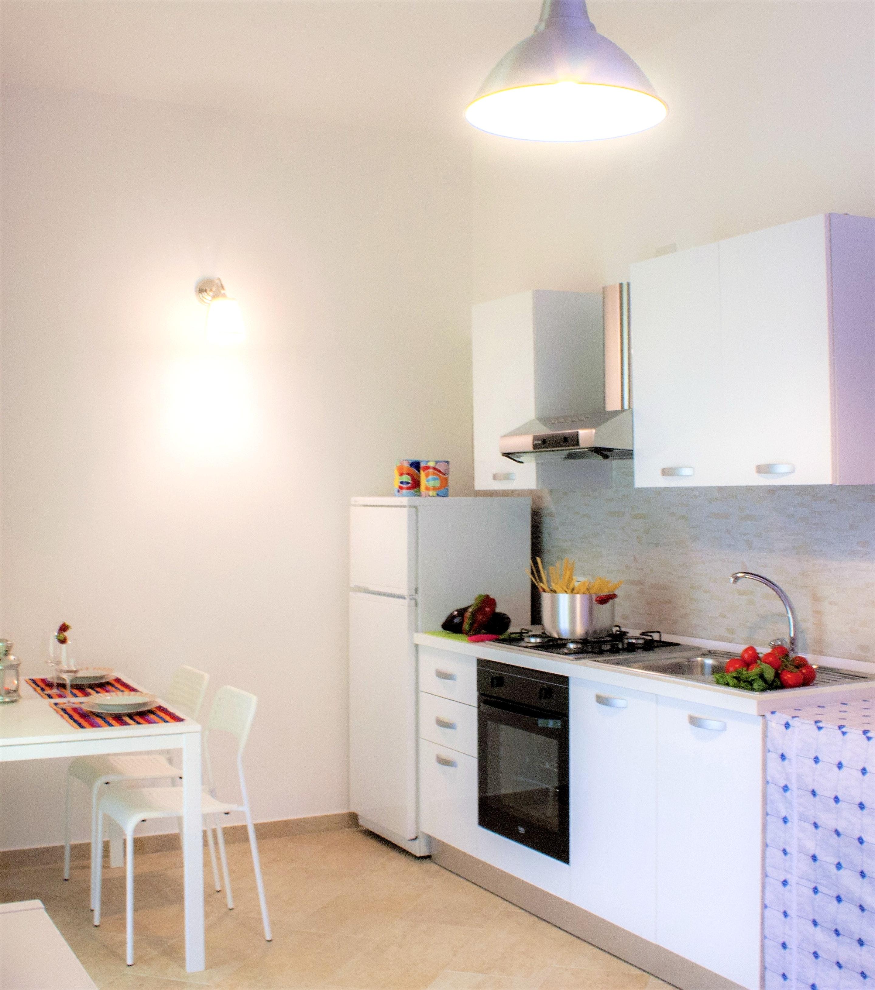 Holiday apartment Wohnung mit 2 Schlafzimmern in Balestrate mit herrlichem Meerblick, möblierter Terrasse un (2201472), Balestrate, Palermo, Sicily, Italy, picture 8