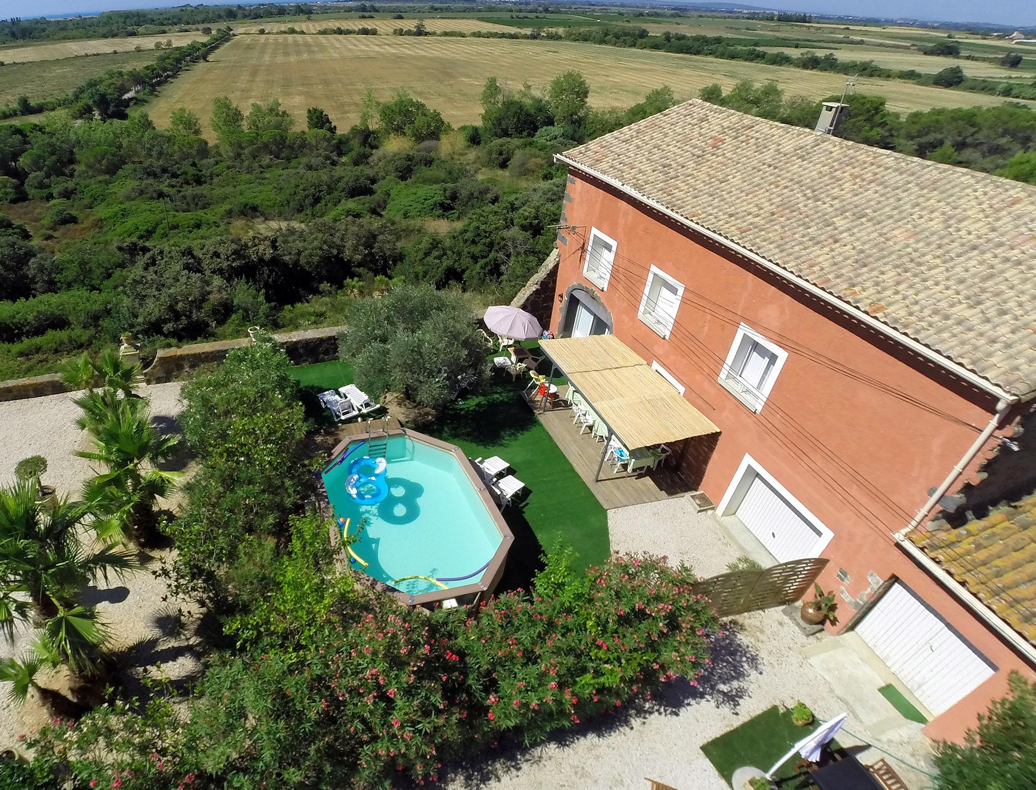 Ferienhaus Bauernhaus in der Languedoc-Roussillon mit Pool und üppigem Garten (2201002), Portiragnes, Mittelmeerküste Hérault, Languedoc-Roussillon, Frankreich, Bild 1