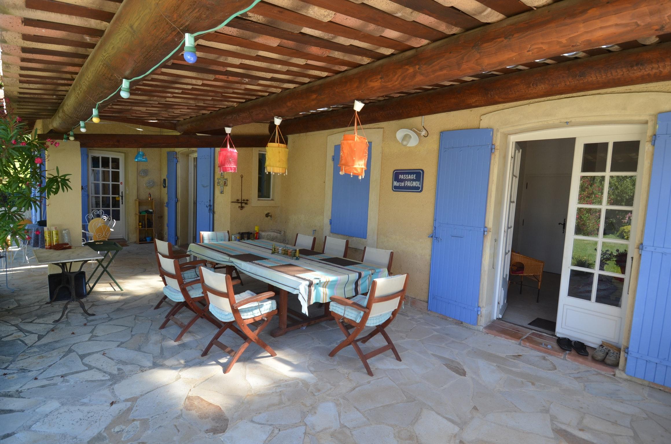 Ferienhaus Villa mit 4 Schlafzimmern in Pernes-les-Fontaines mit toller Aussicht auf die Berge, priva (2519446), Pernes les Fontaines, Saône-et-Loire, Burgund, Frankreich, Bild 13