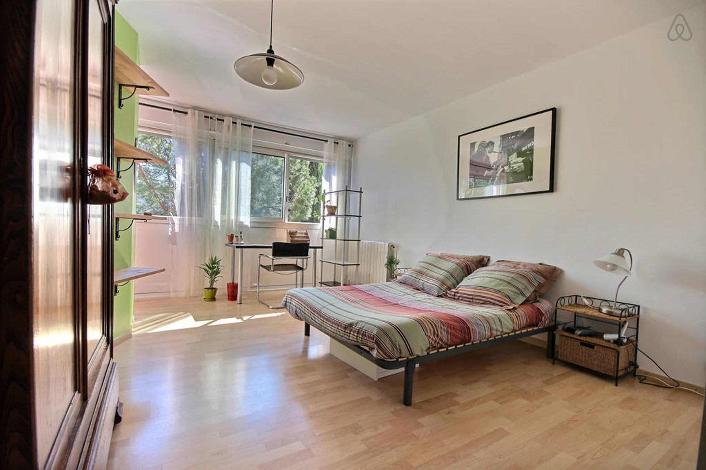 Ferienwohnung Wohnung mit 2 Zimmern in Montpellier mit möblierter Terrasse und W-LAN - 15 km vom Strand  (2351209), Montpellier, Mittelmeerküste Hérault, Languedoc-Roussillon, Frankreich, Bild 6