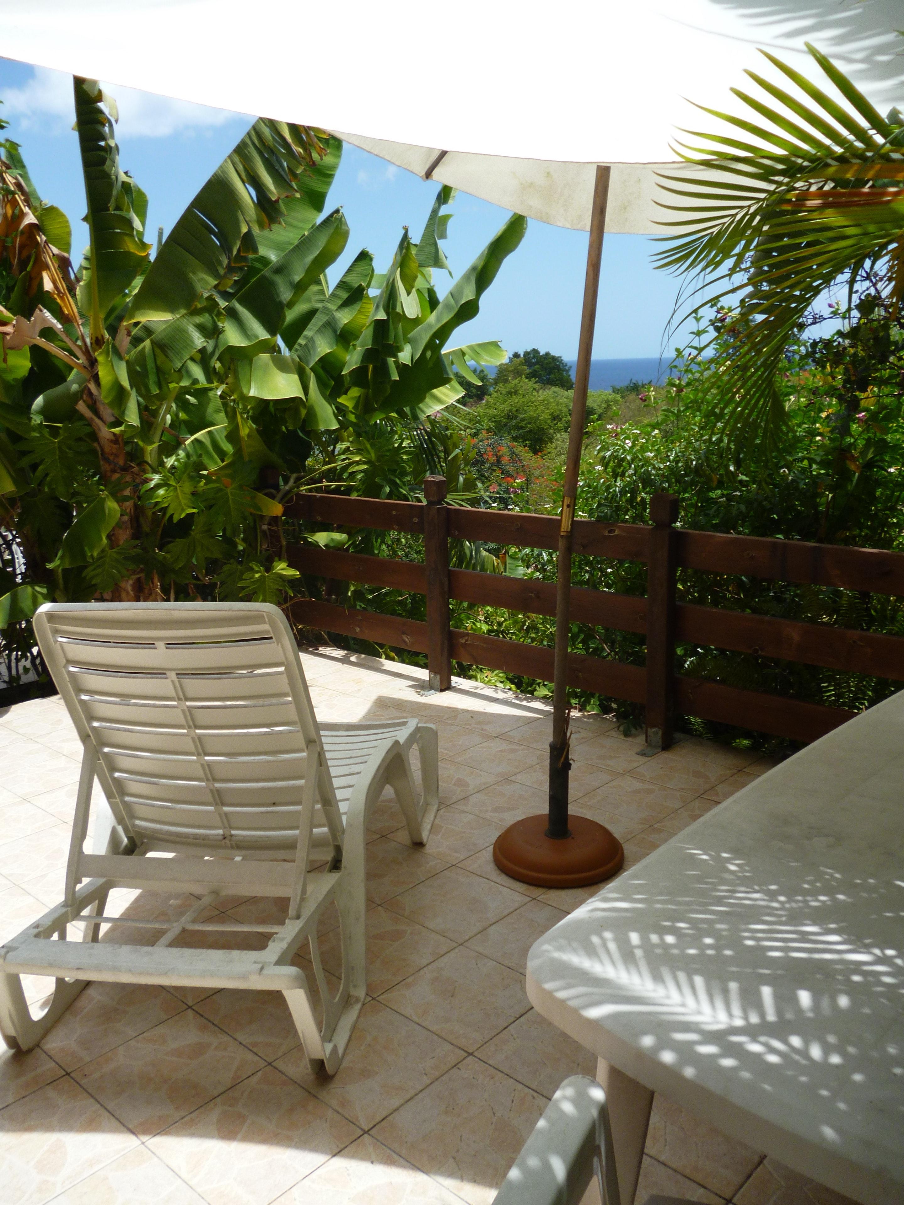 Studio in Marigot mit herrlichem Meerblick, eingez Ferienwohnung in Mittelamerika und Karibik