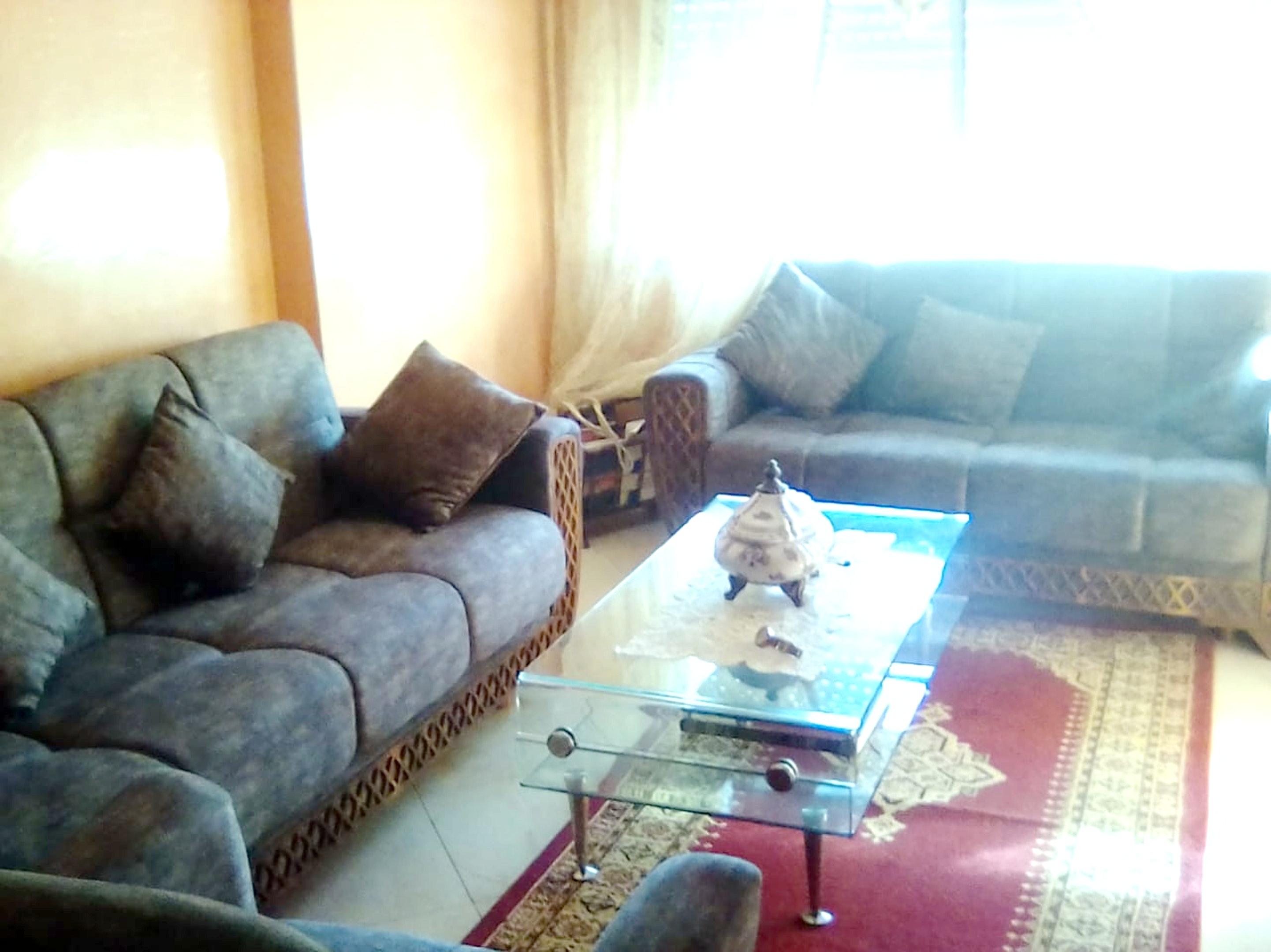 Wohnung mit einem Schlafzimmer in Casablanca mit s Ferienwohnung in Afrika
