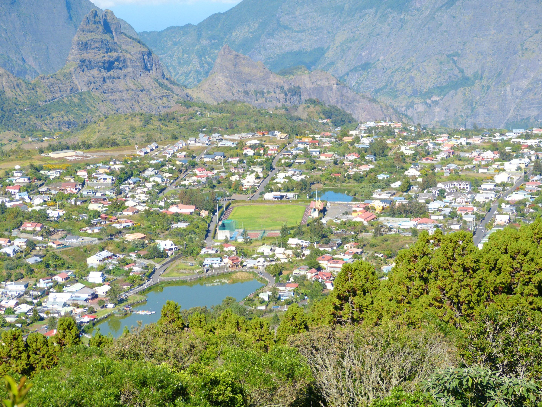 Haus mit 2 Schlafzimmern in Cilaos mit toller Auss Ferienhaus in Afrika