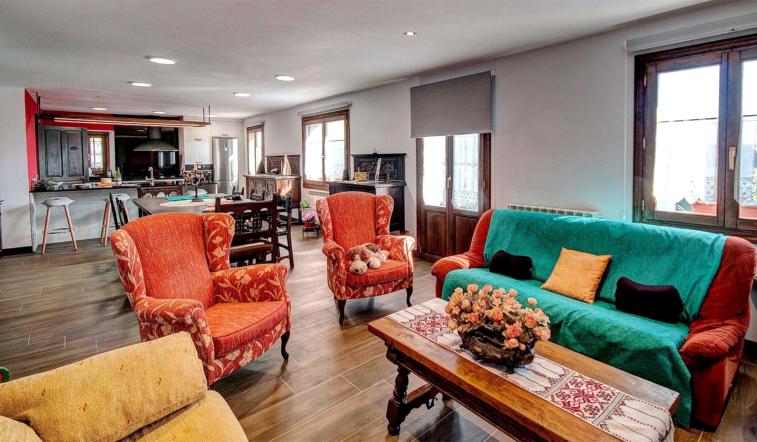 Ferienhaus Haus mit 5 Schlafzimmern in Baráibar mit toller Aussicht auf die Berge, möbliertem Garten  (2541138), Baraibar, , Navarra, Spanien, Bild 5