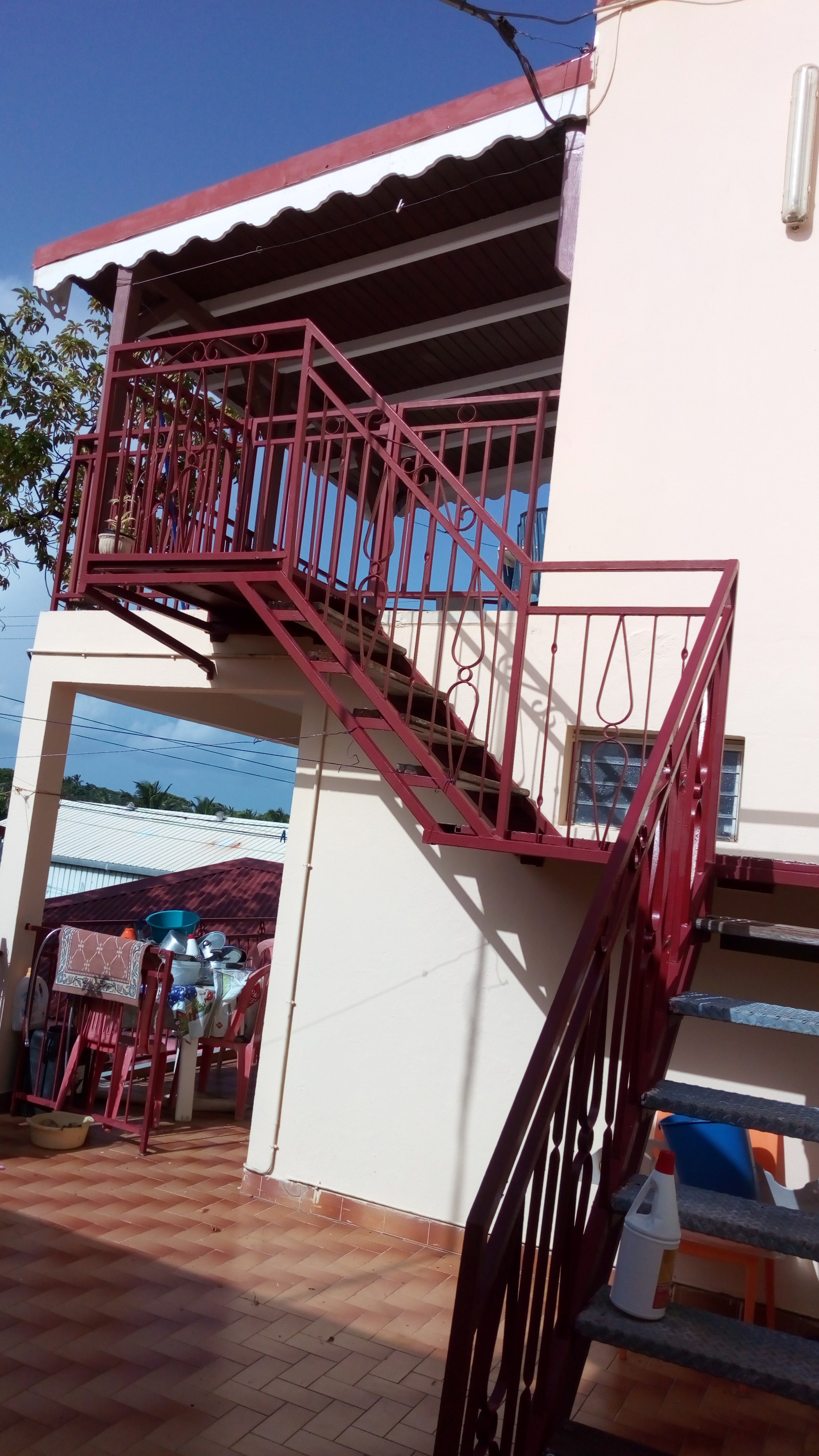 Wohnung mit 2 Schlafzimmern in Goyave mit herrlich Ferienwohnung in Guadeloupe
