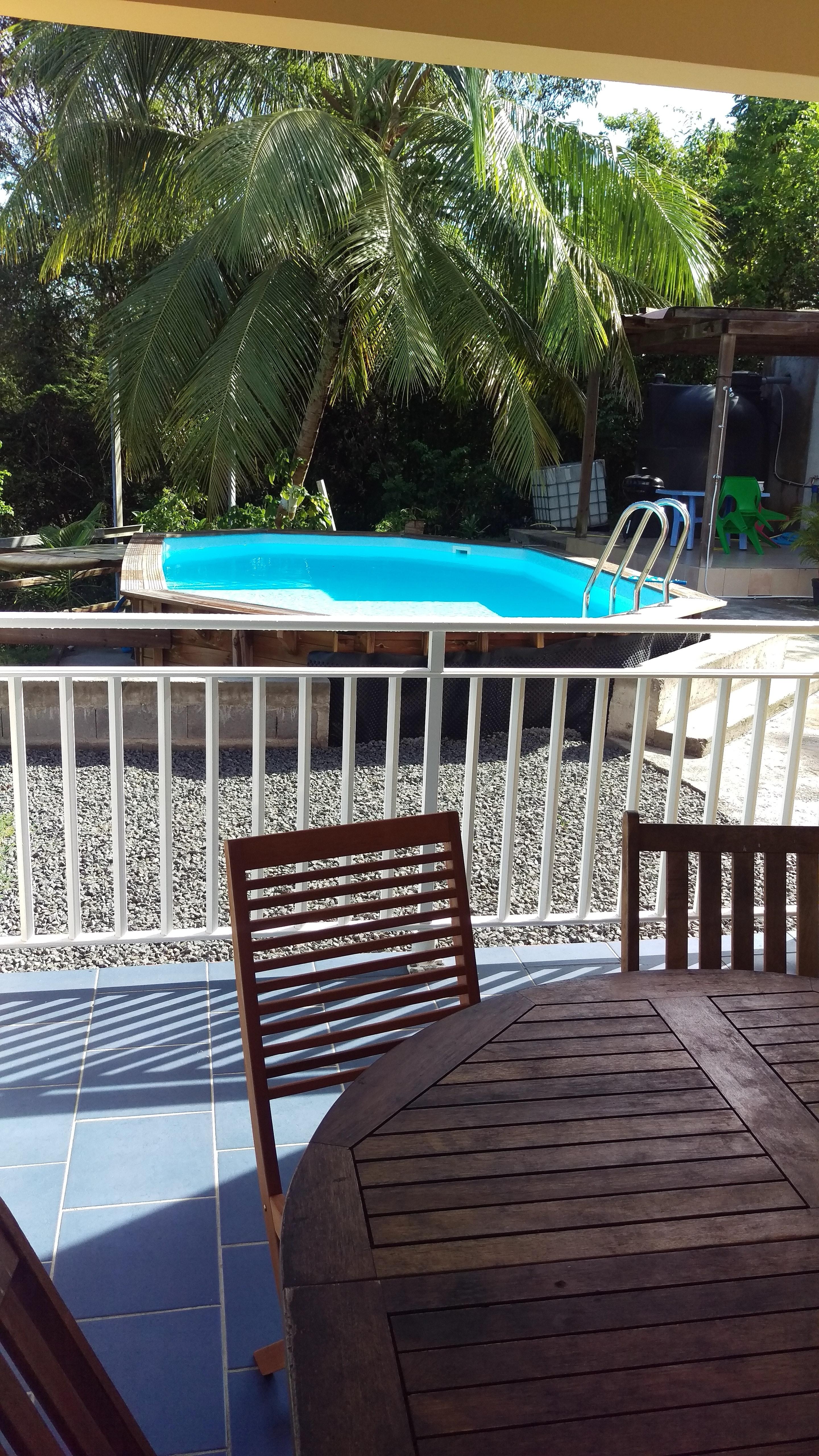 Wohnung mit 2 Schlafzimmern in Sainte-Anne mit tol Ferienwohnung in Guadeloupe
