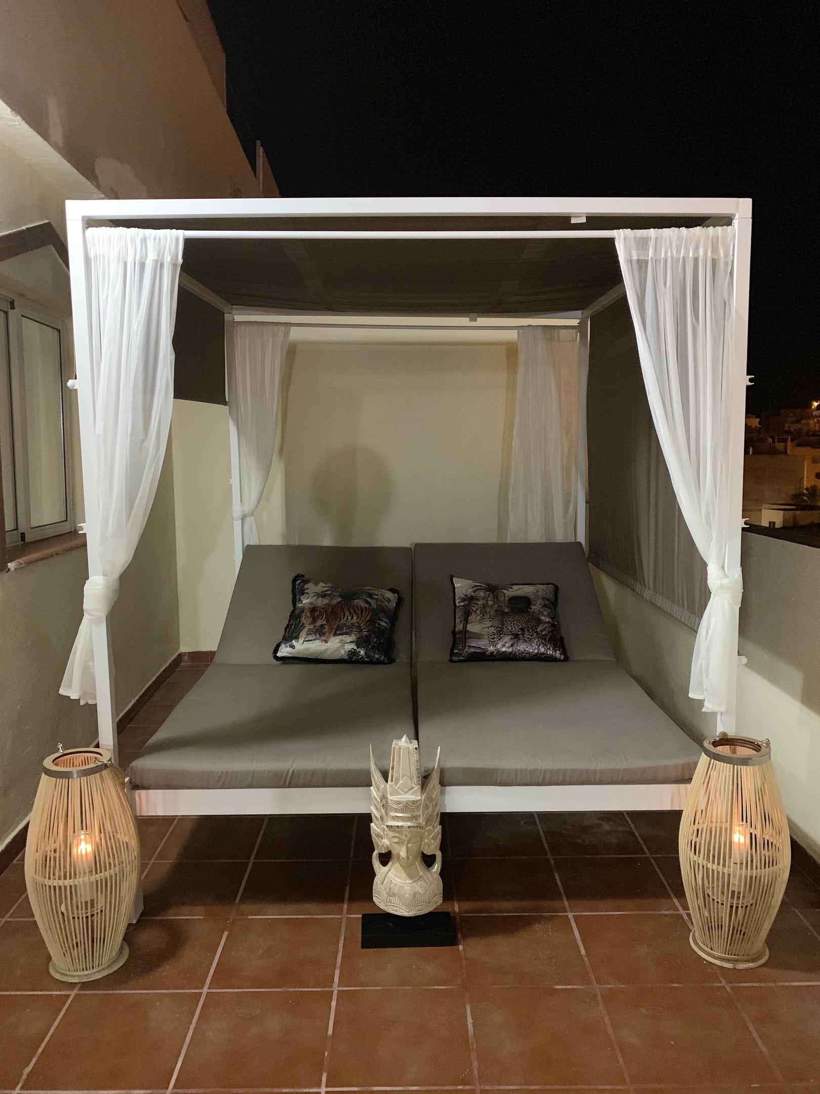 Appartement de vacances Wohnung mit 2 Schlafzimmern in Los Cristianos mit toller Aussicht auf die Berge, eingezäun (2202481), Los Cristianos, Ténérife, Iles Canaries, Espagne, image 19